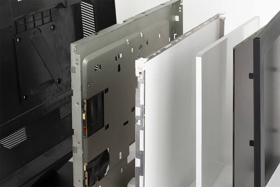 break out of industrial lcd display stack up