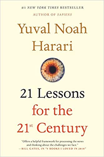21 Lessons for the 21 Century Cover