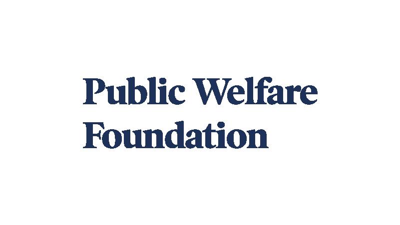 Public Welfare Foundation logo