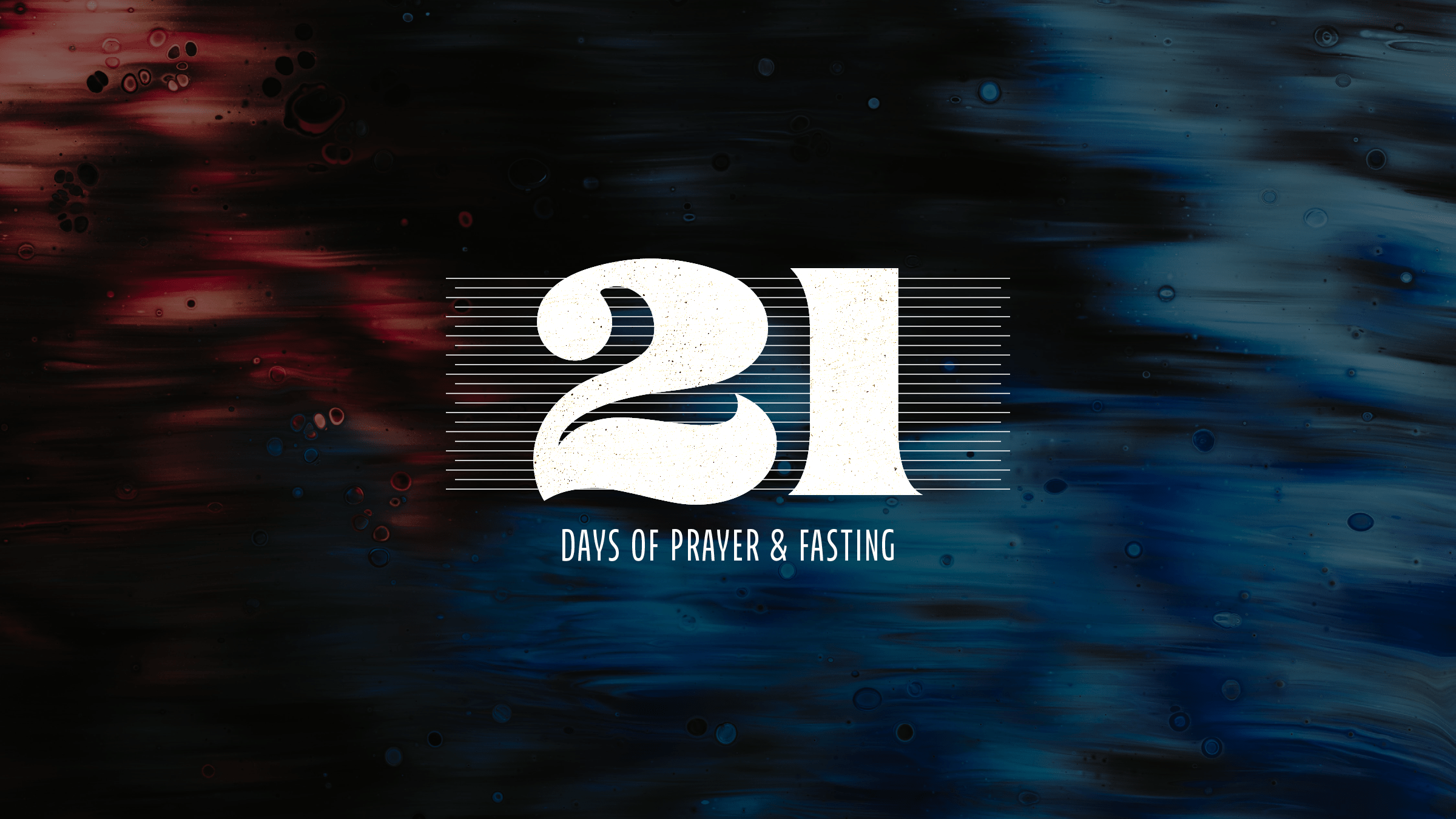 21 days of prayer cover