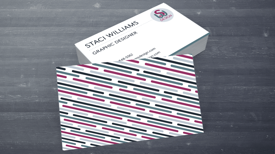 s williams design business card