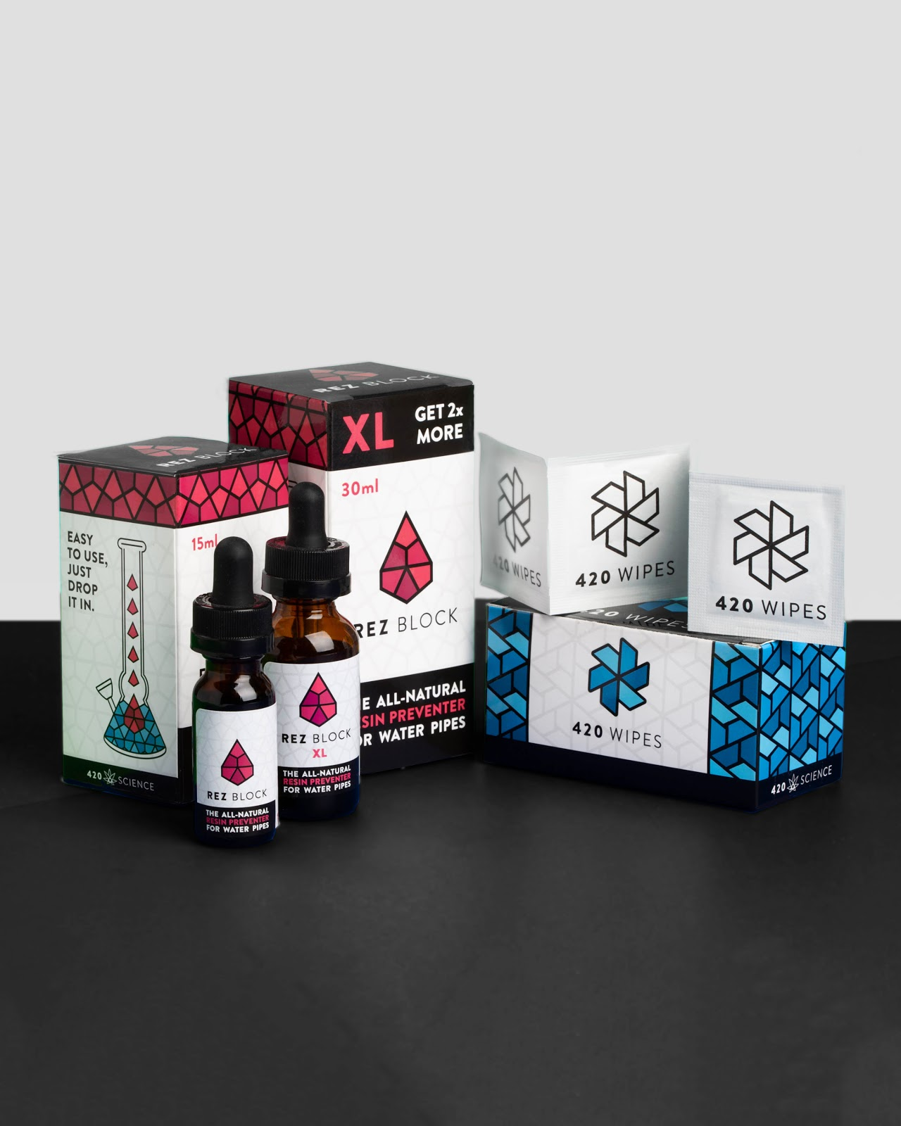 420 Science brand identity by High Road Design Studio