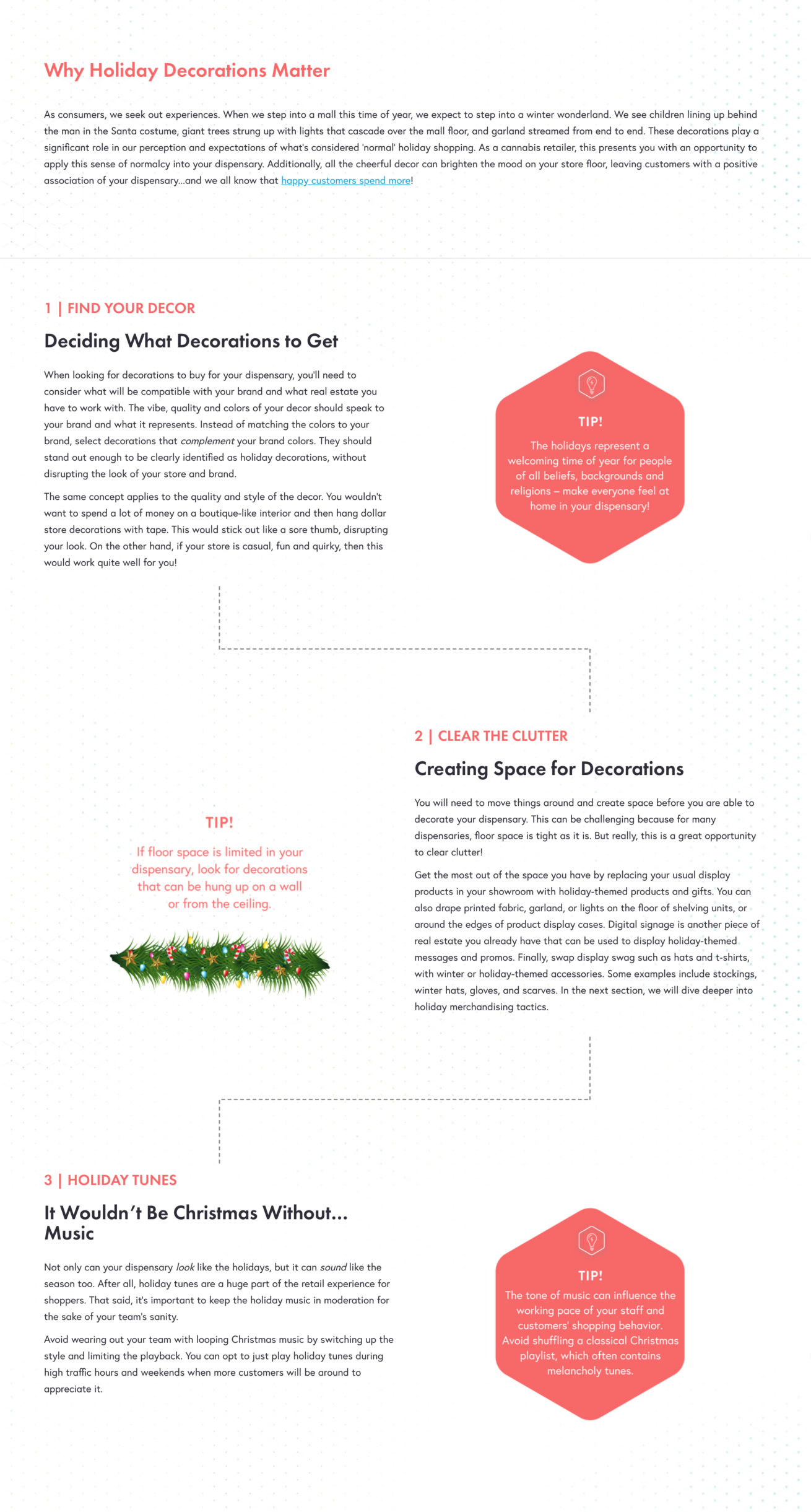 Dispensary Holiday Guide - High Road Design Studio