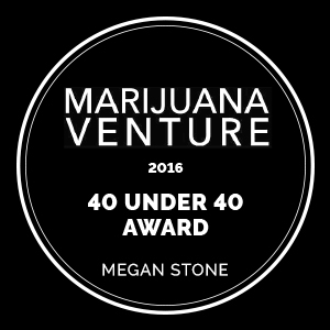 Marijuana Venture Award - 40 Under 40 2016