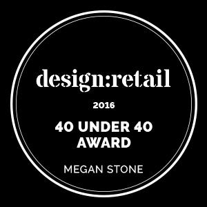 Design:Retail Award - 40 Under 40 2016