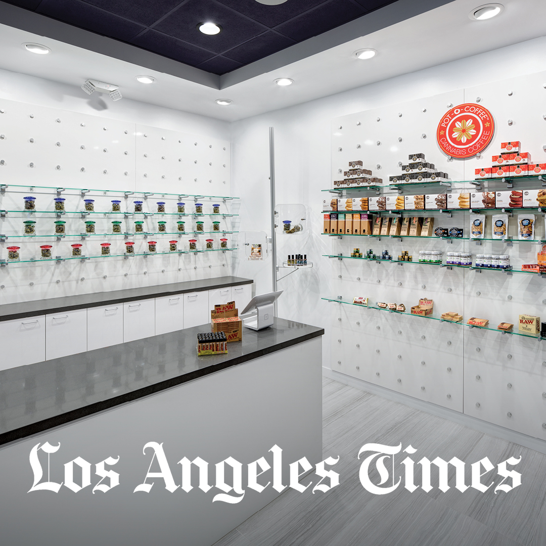 LA Times - Marijuana Shops Are Trying to Look Like the Apple Store
