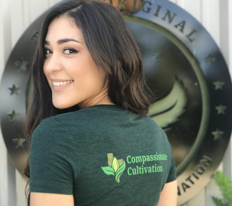 Texas Original Cannabis Company Branded shirt by High Road Design Studio