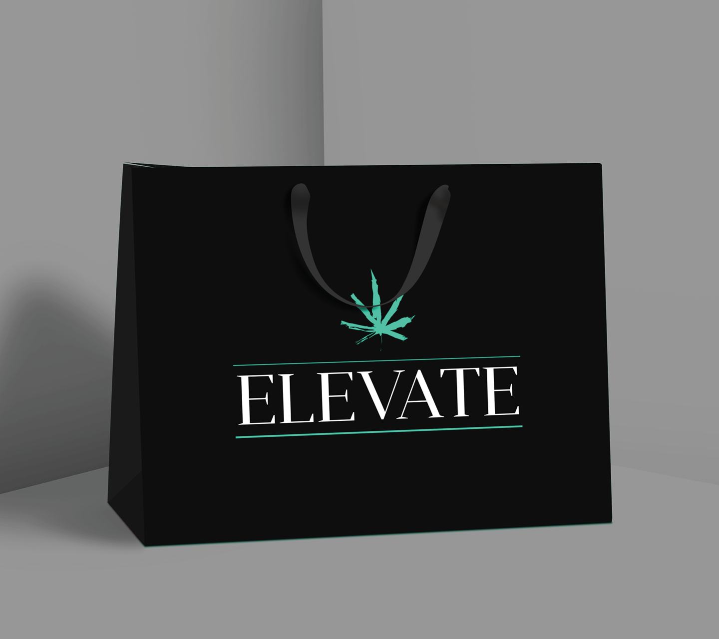 Elevate Dispensary Exit Packaging by High Road Design Studio