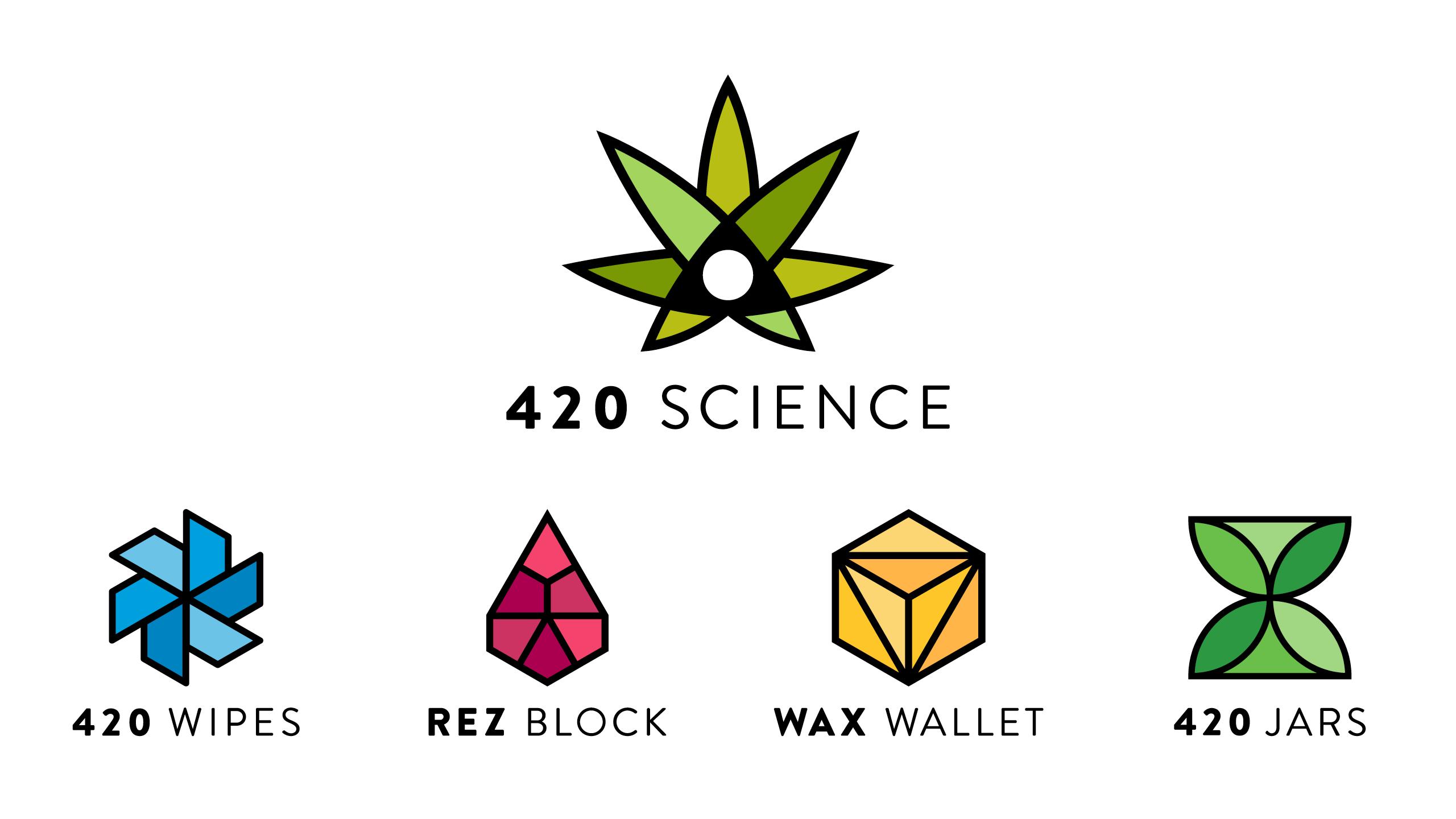 420 Science Brand Identity Refresh by High Road Design Studio