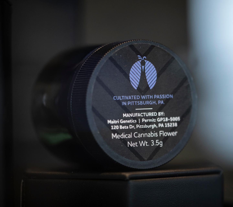 Maitri Genetics Product Label Design by High Road Design Studio