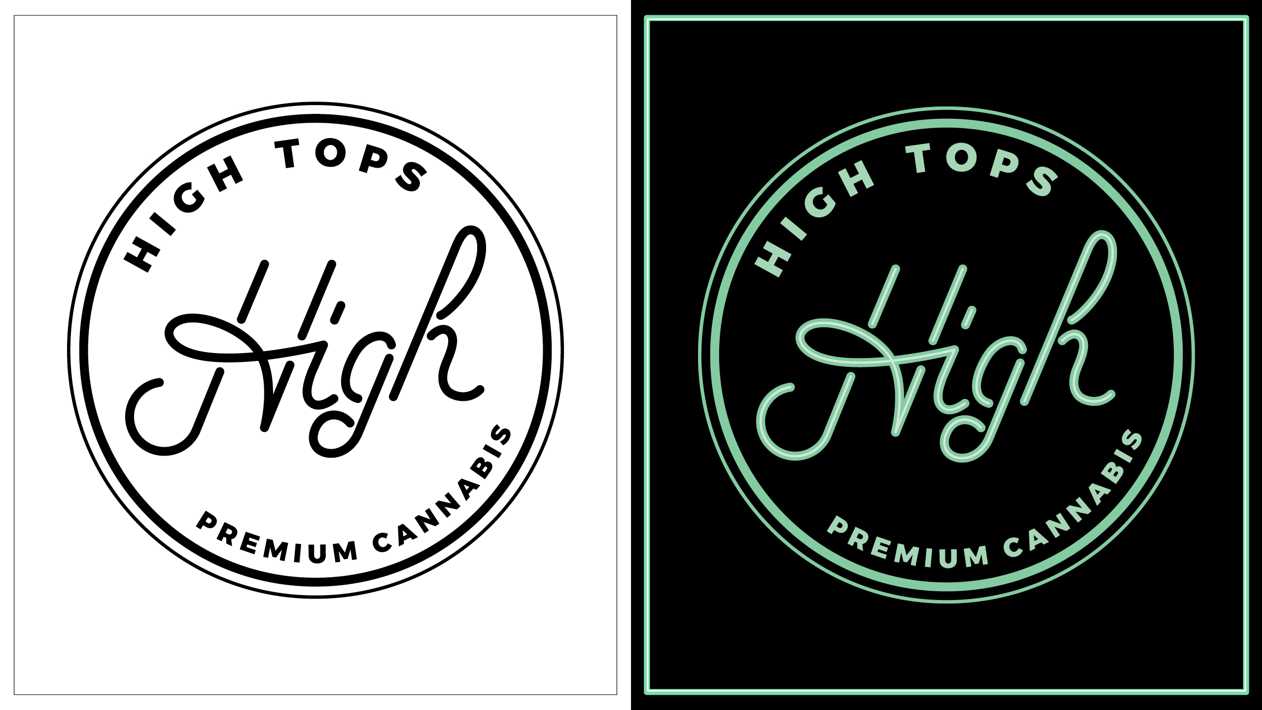 Hightops Color Palette & Pattern Development by High Road Design Studio
