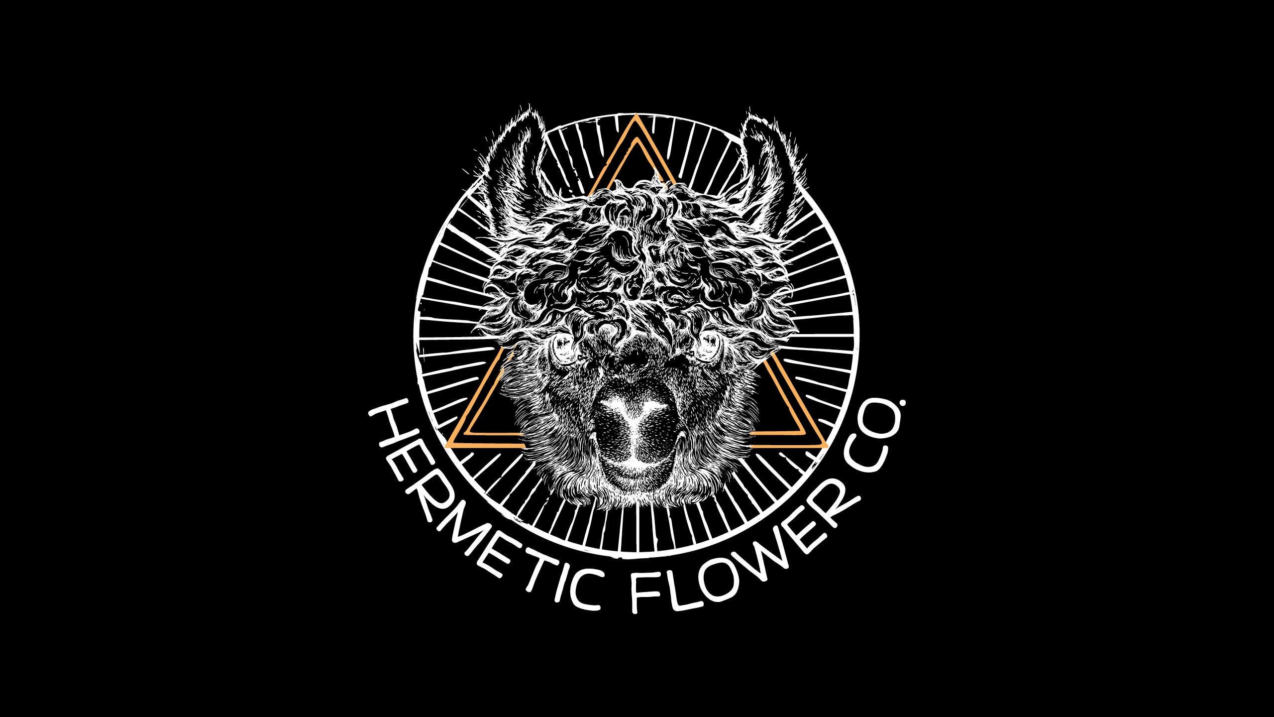 Hermetic Flower Company Logo Creation by High Road Design Studio