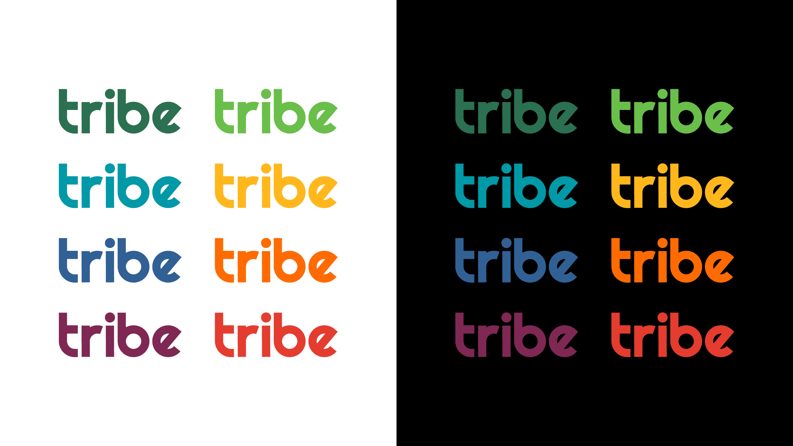 Tribe Cannabis Collection Color Palette & Pattern Development by High Road Design Studio