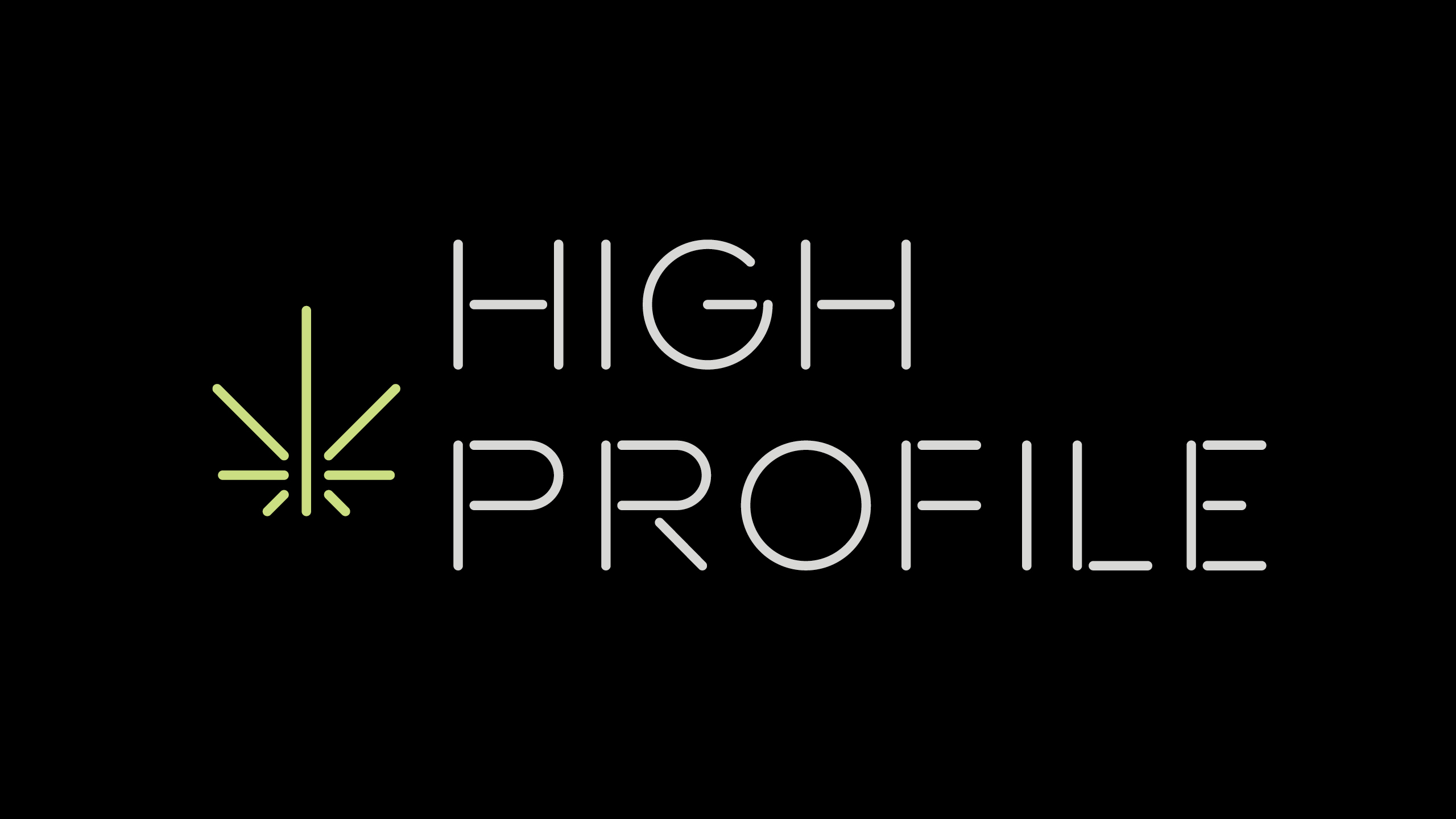High Profile Brand Identity & Logo Creation by High Road Design Studio