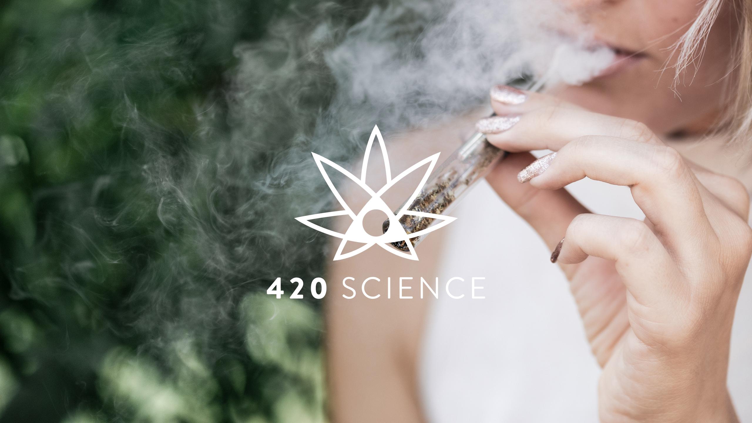 420 Science Brand Identity & Logo Creation by High Road Design Studio
