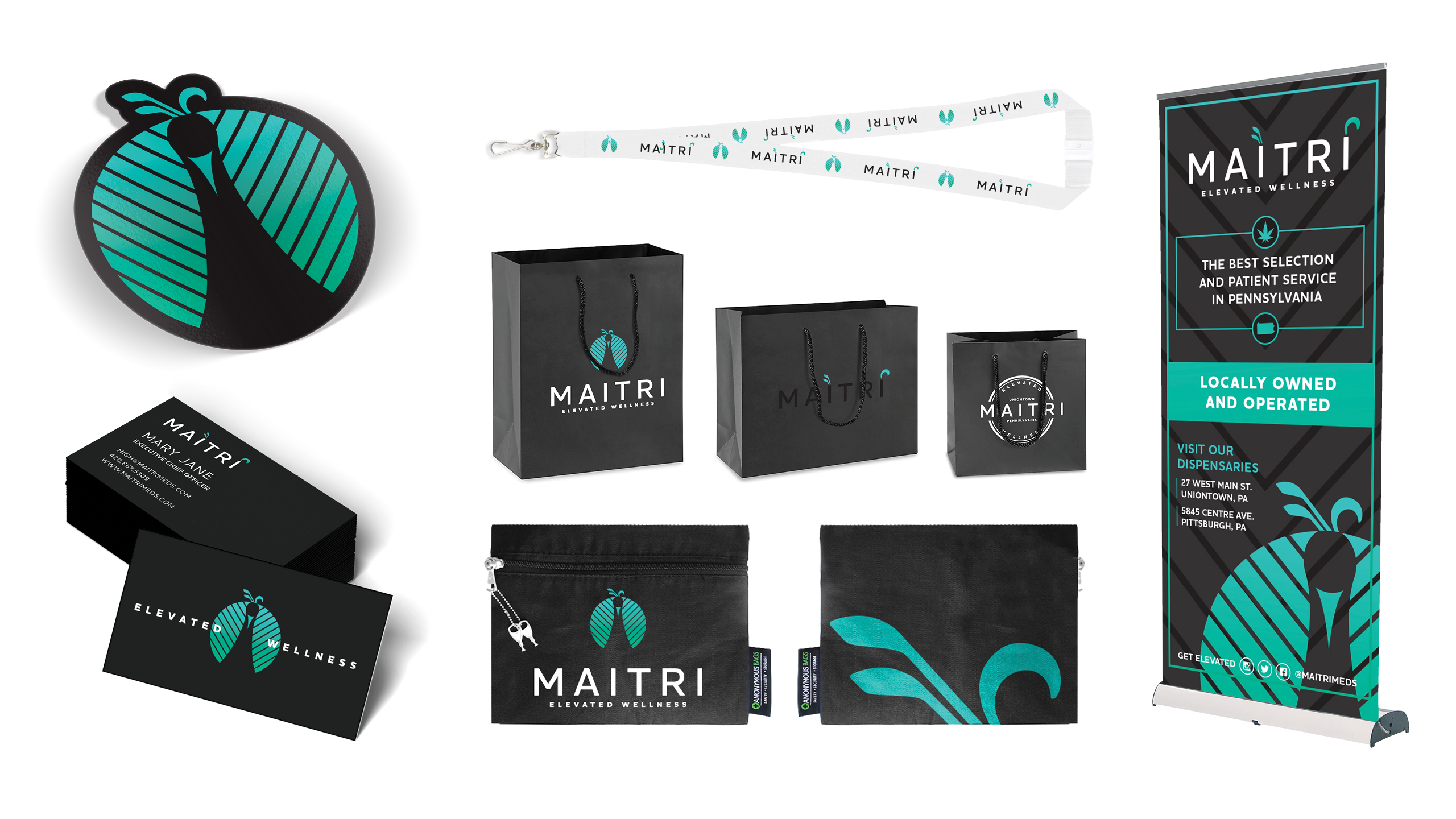Maitri Medicinals Product Packaging & Label Design by High Road Design Studio