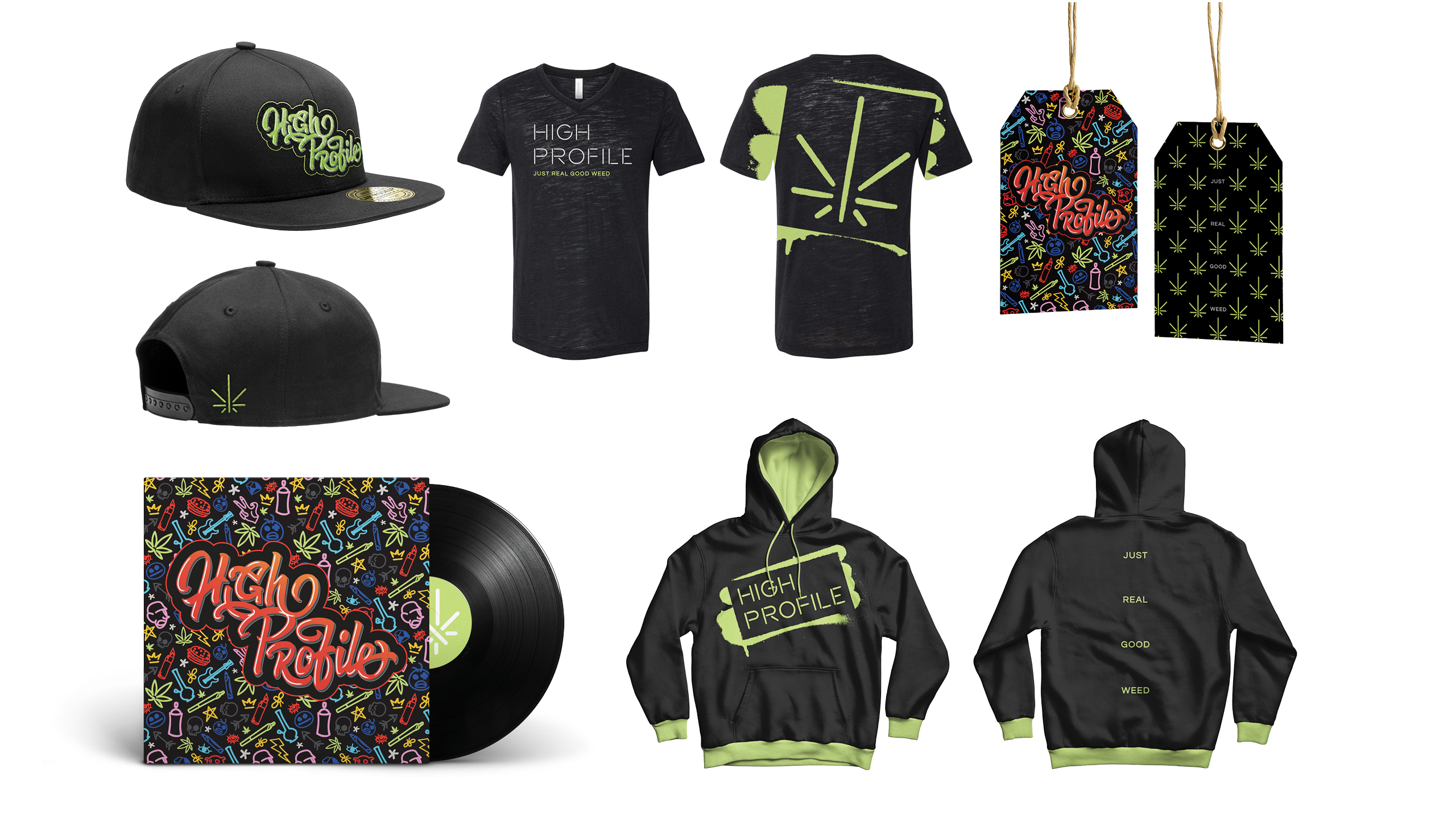 High Profile Branded Apparel by High Road Design Studio