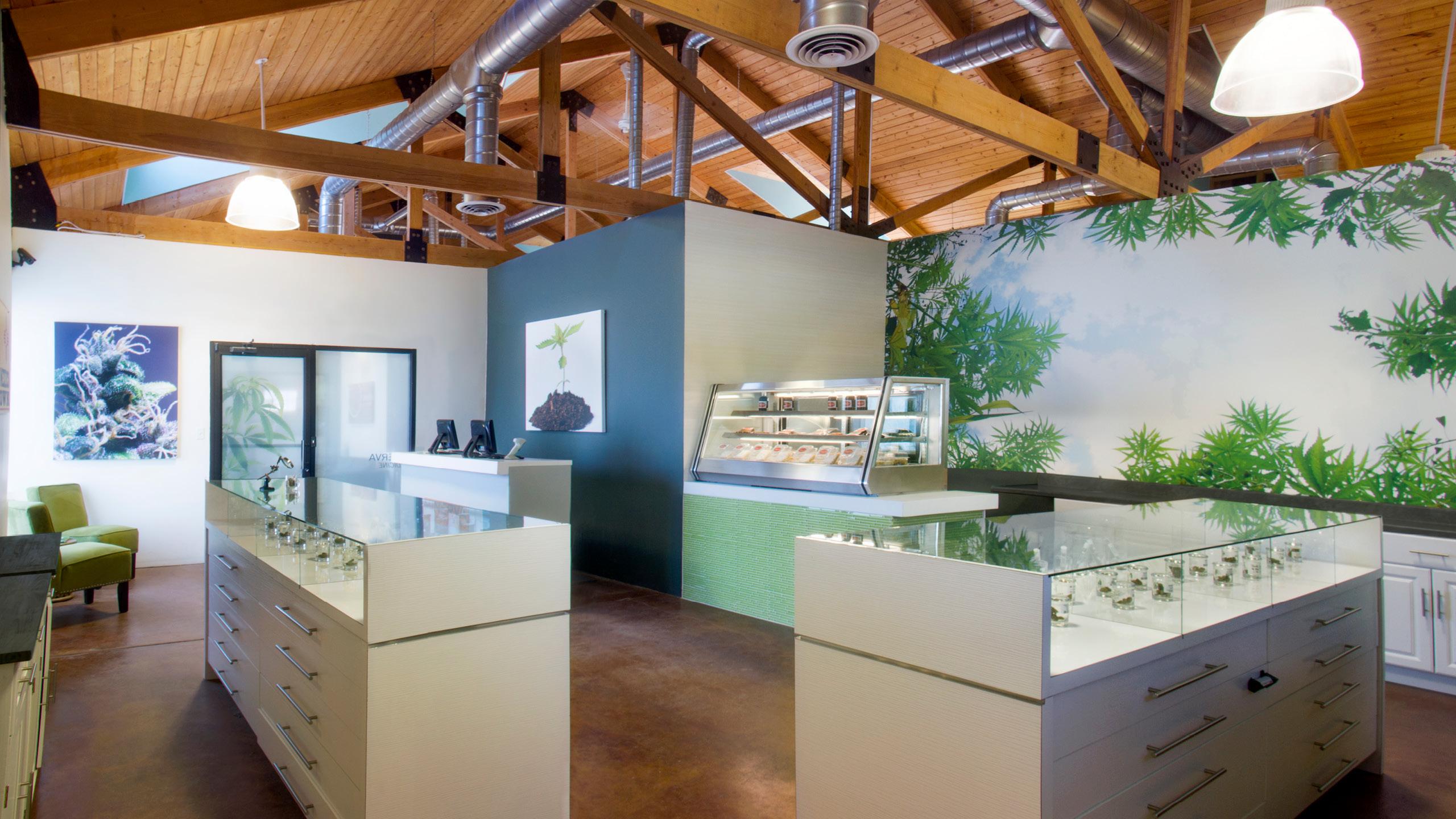 Minerva Canna Group Dispensary Retail Interior Design by High Road Design Studio
