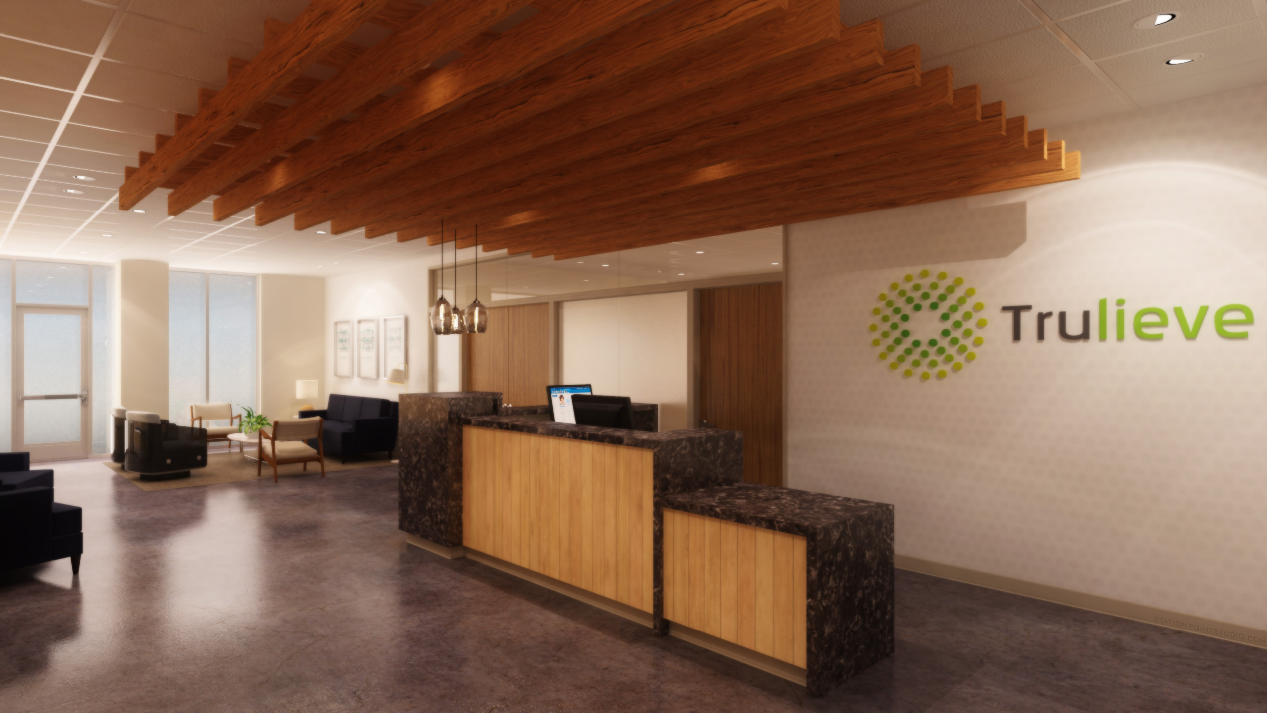 Trulieve Dispensary Design by High Road Design Studio