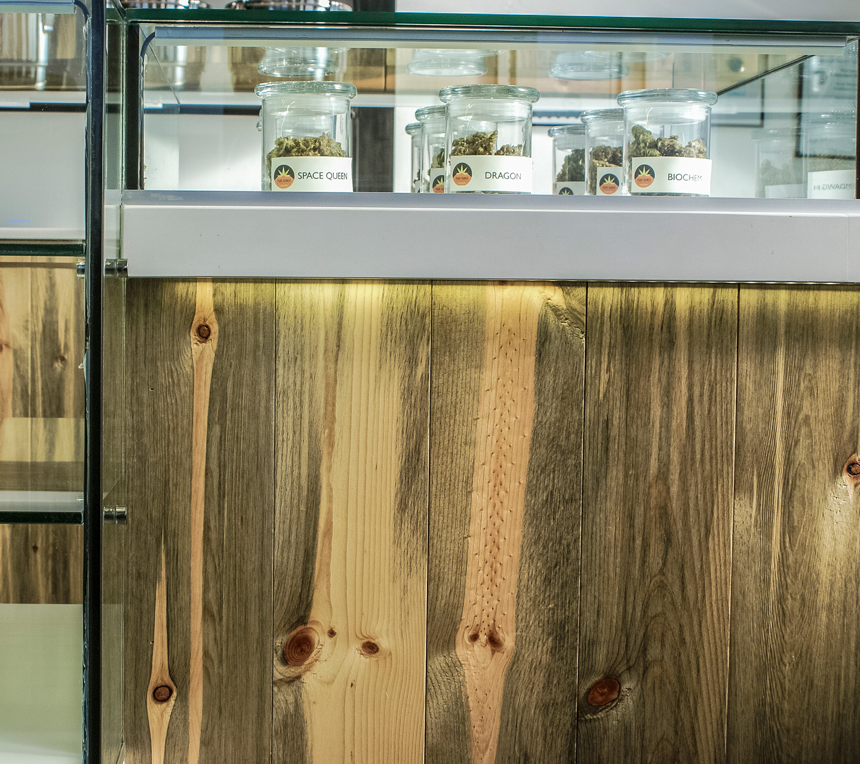 Park Range Recreationals Dispensary Design by High Road Design Studio