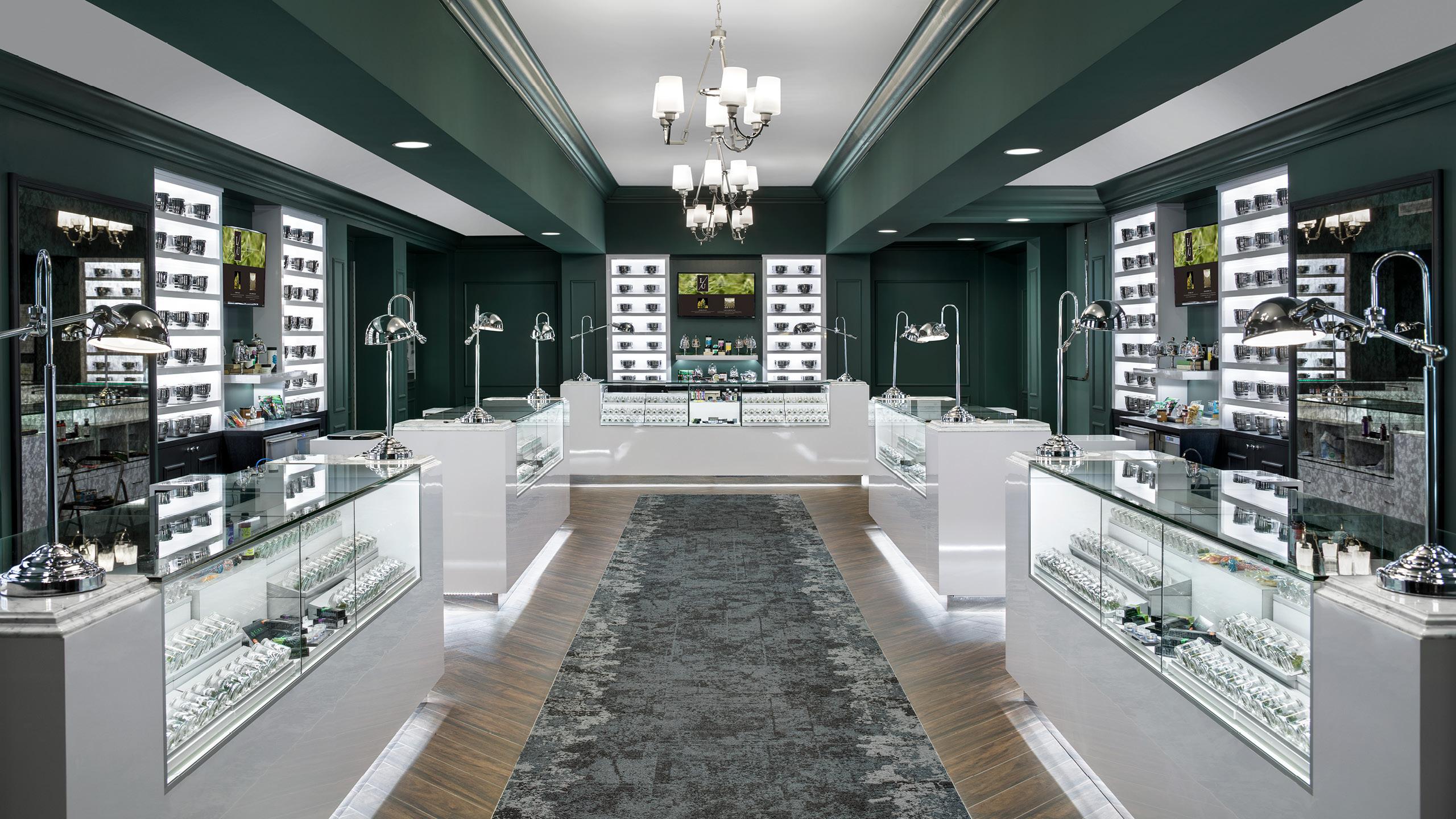 Level Up Dispensary Design by High Road Design Studio