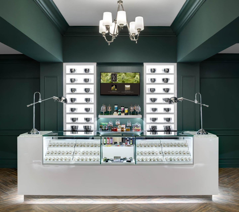 Level Up Dispensary Interior Design by High Road Design Studio