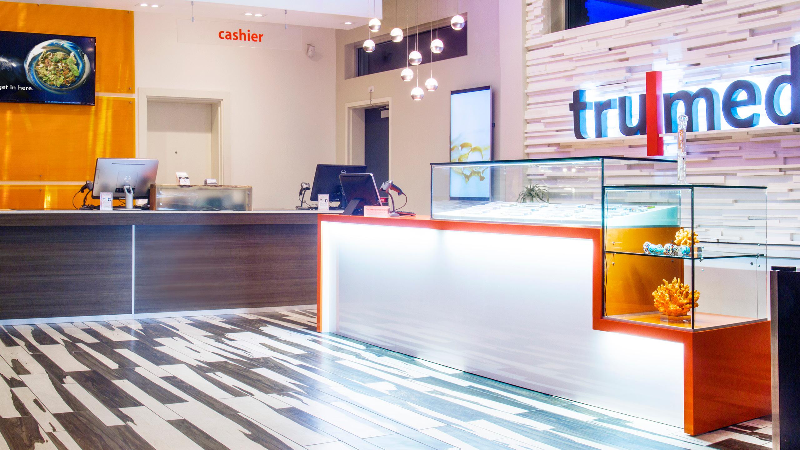 TruMed Dispensary Design by High Road Design Studio