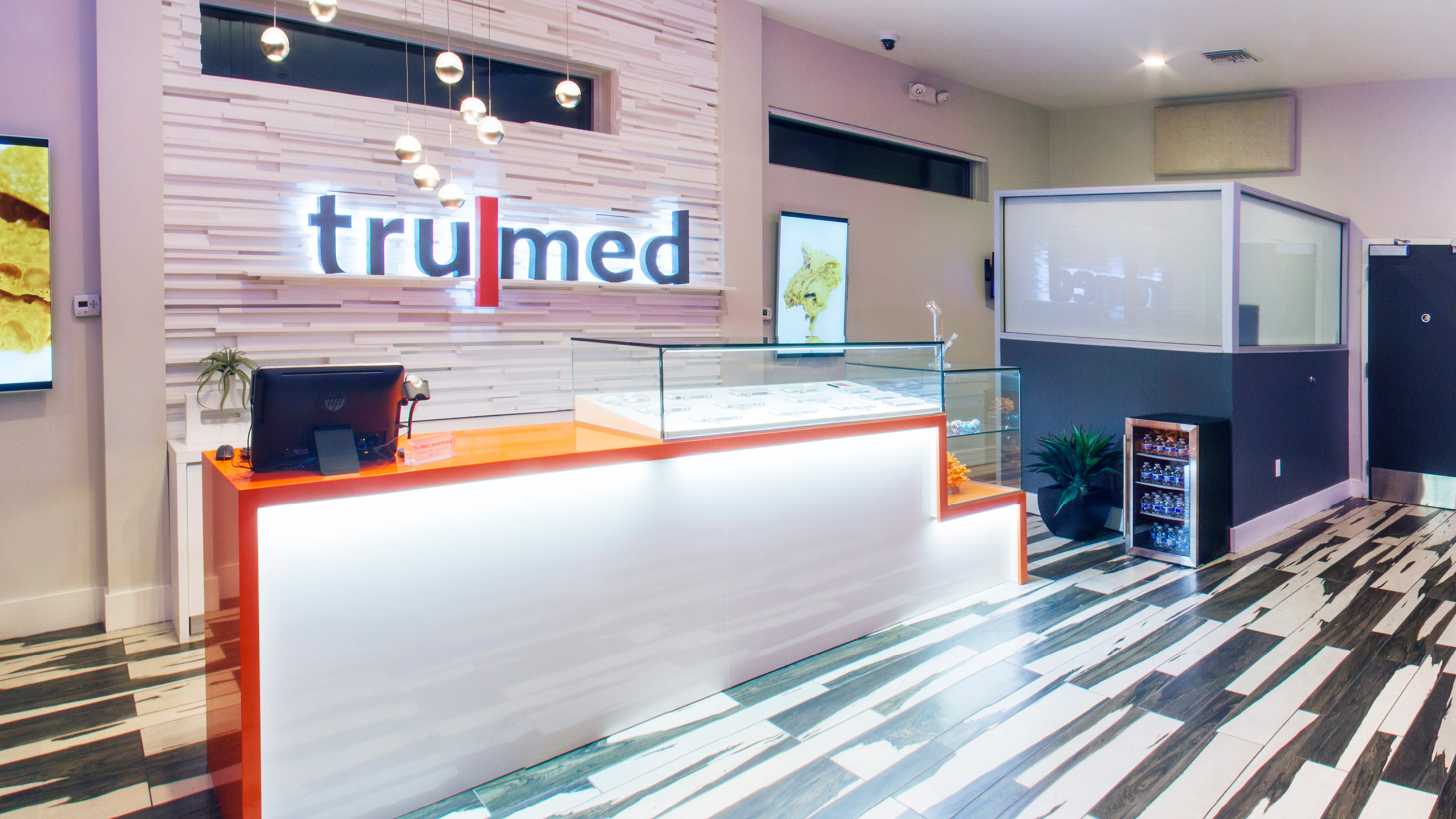 TruMed Dispensary Interior Design by High Road Design Studio