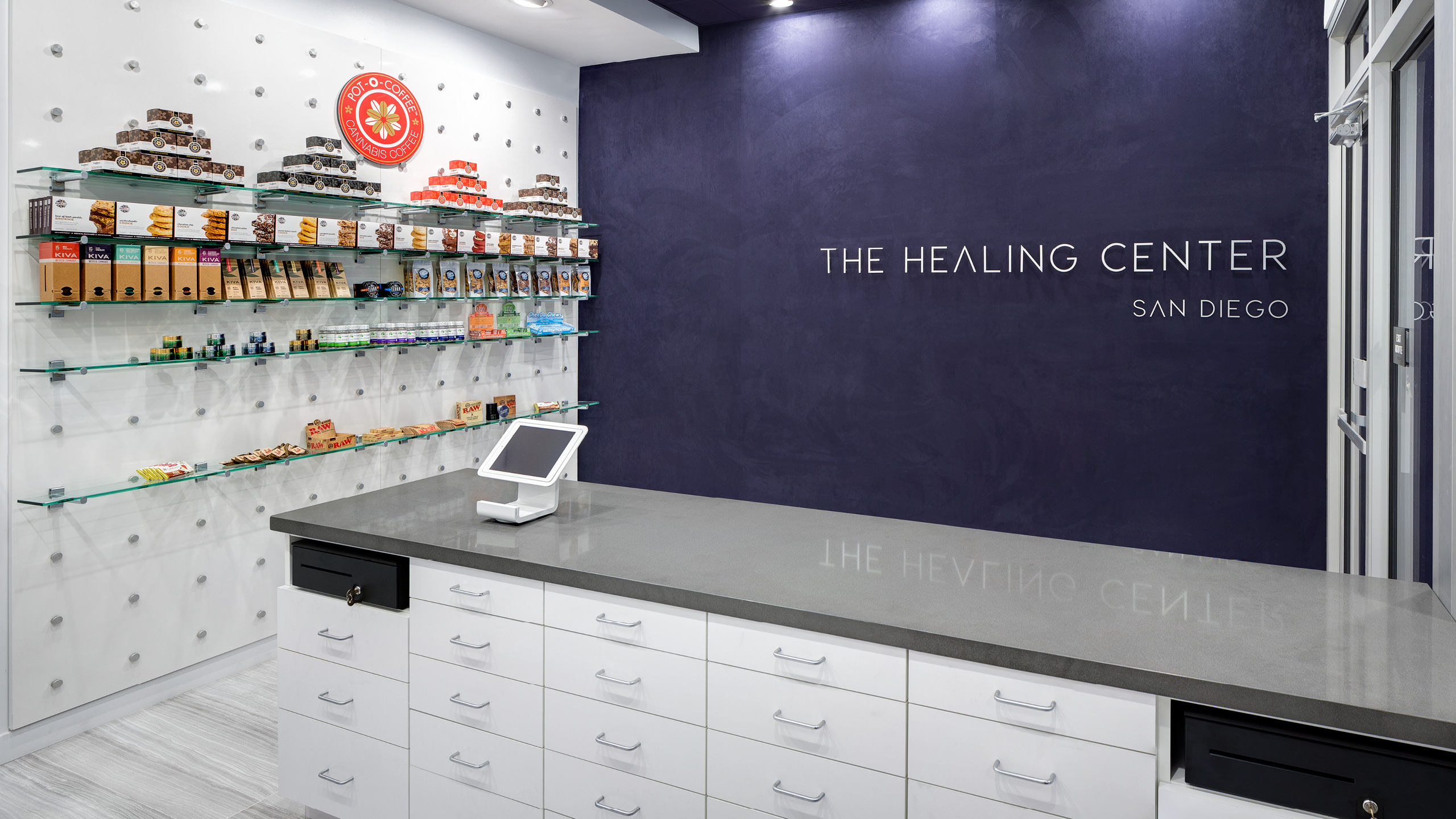 The Healing Center Dispensary Design by High Road Design Studio