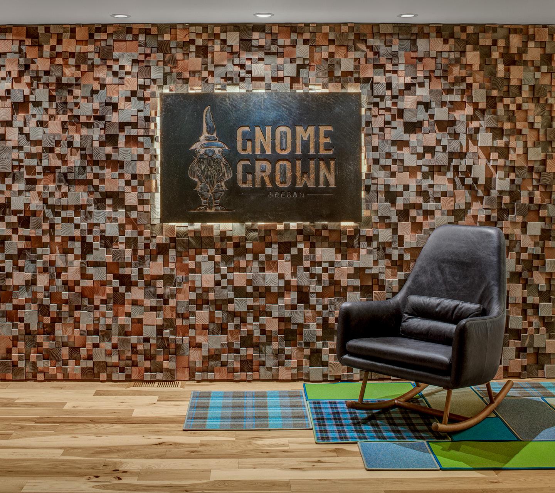 Gnome Grown Retail Dispensary Design by High Road Design Studio