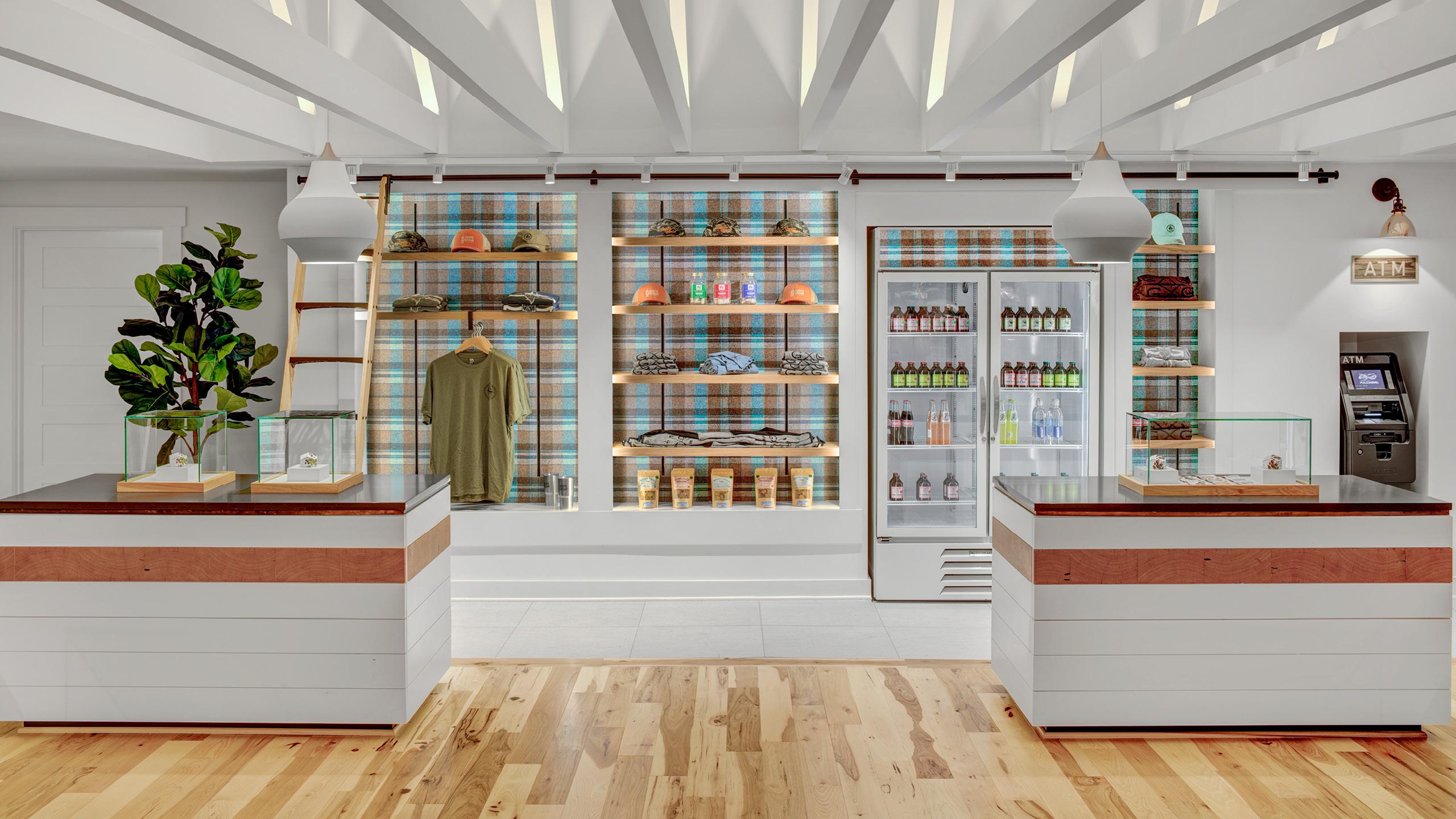 Gnome Grown Dispensary Design by High Road Design Studio