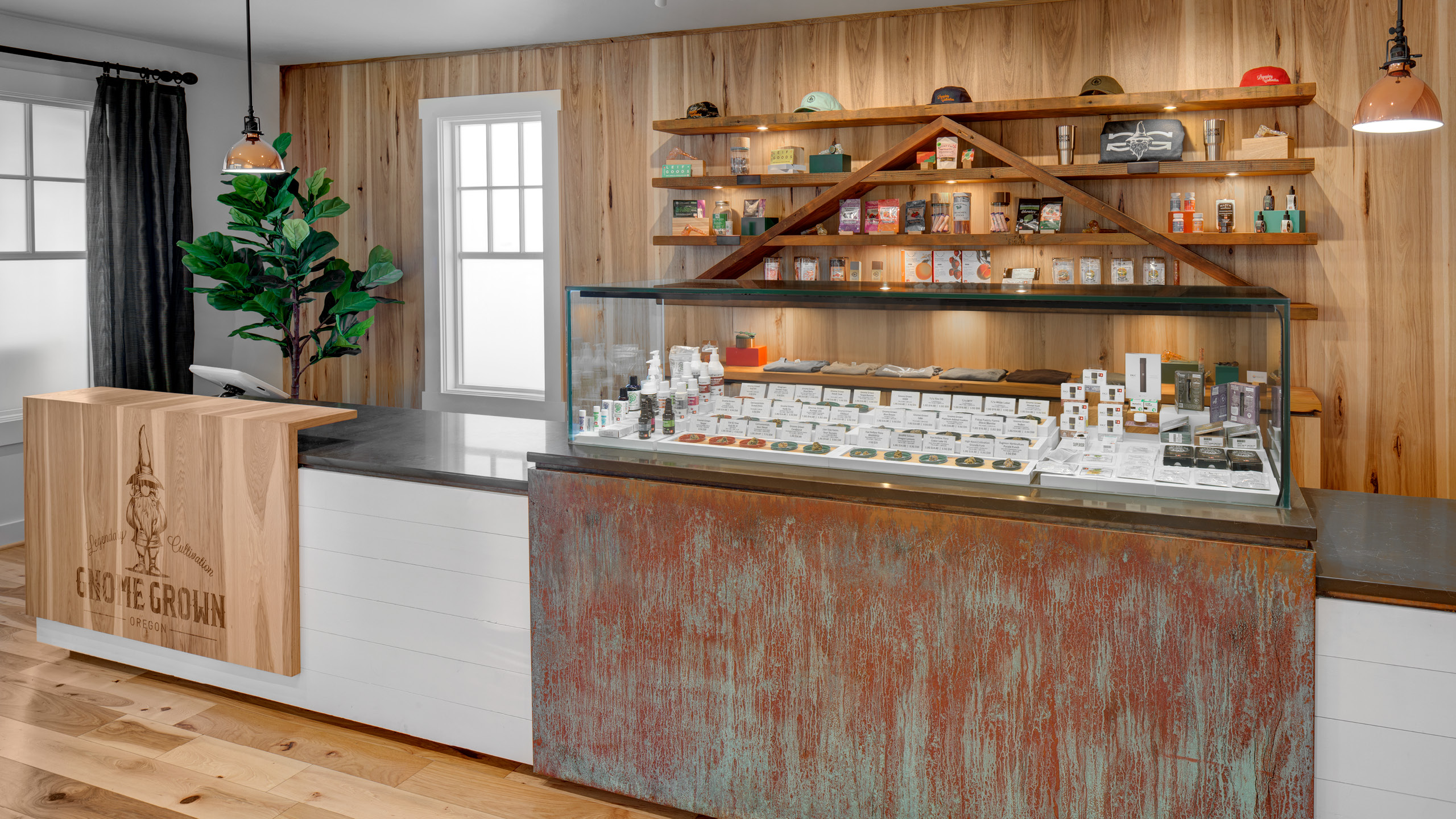 Gnome Grown Retail Interior Design by High Road Design Studio