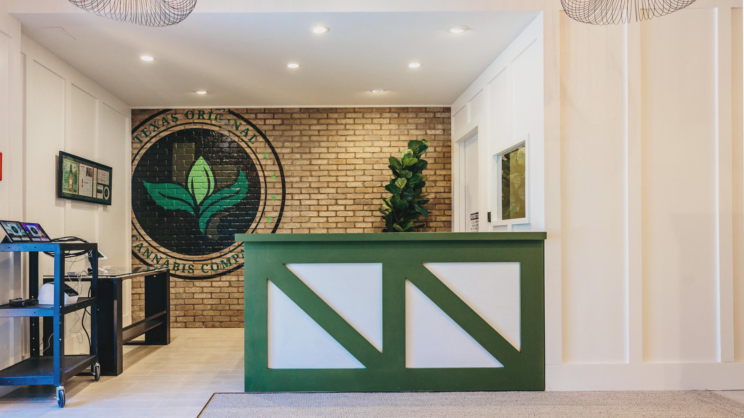 Texas Original Cannabis Company Dispensary Design by High Road Design Studio