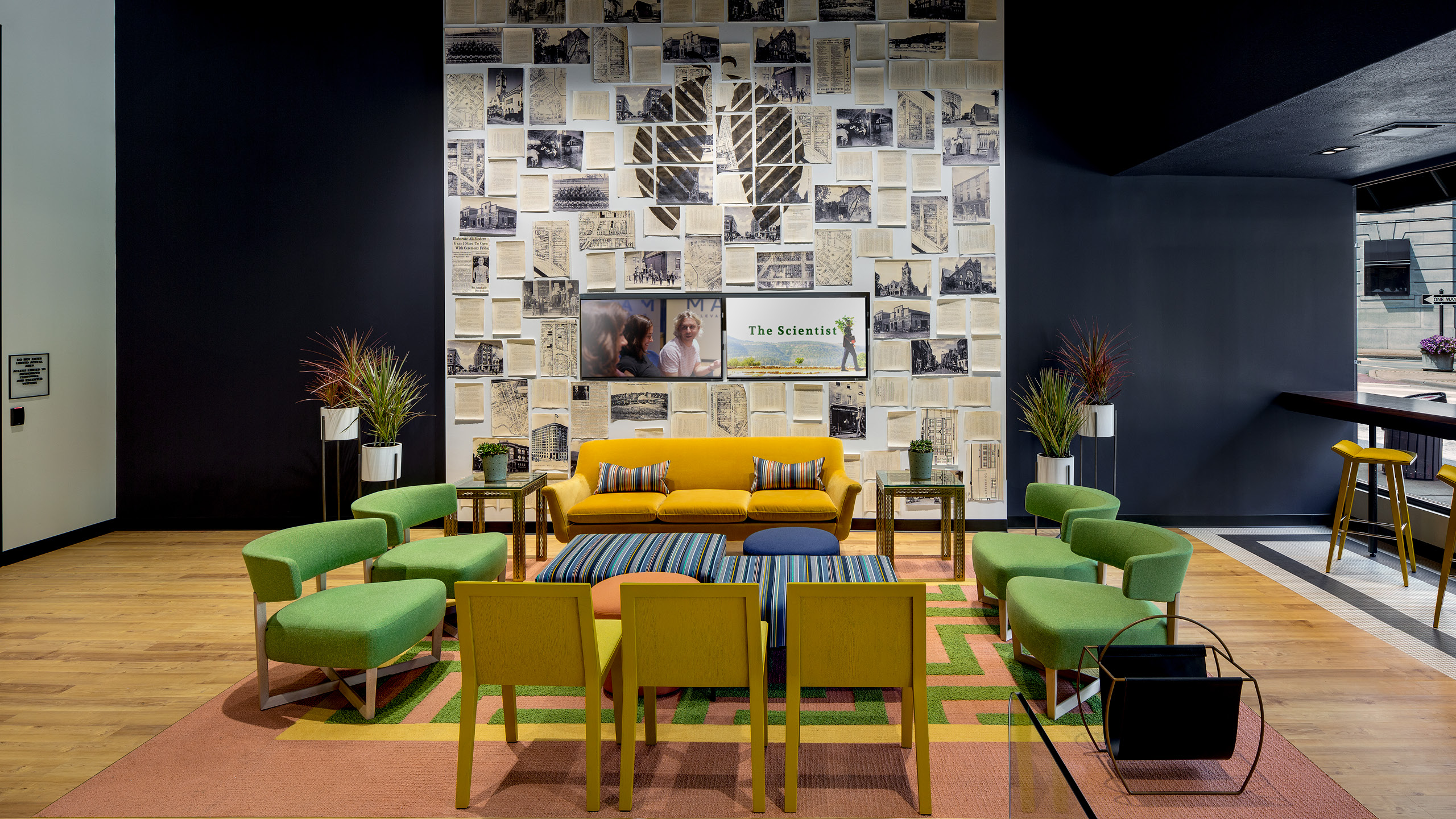 Maitri Dispensary Interior Design by High Road Design Studio