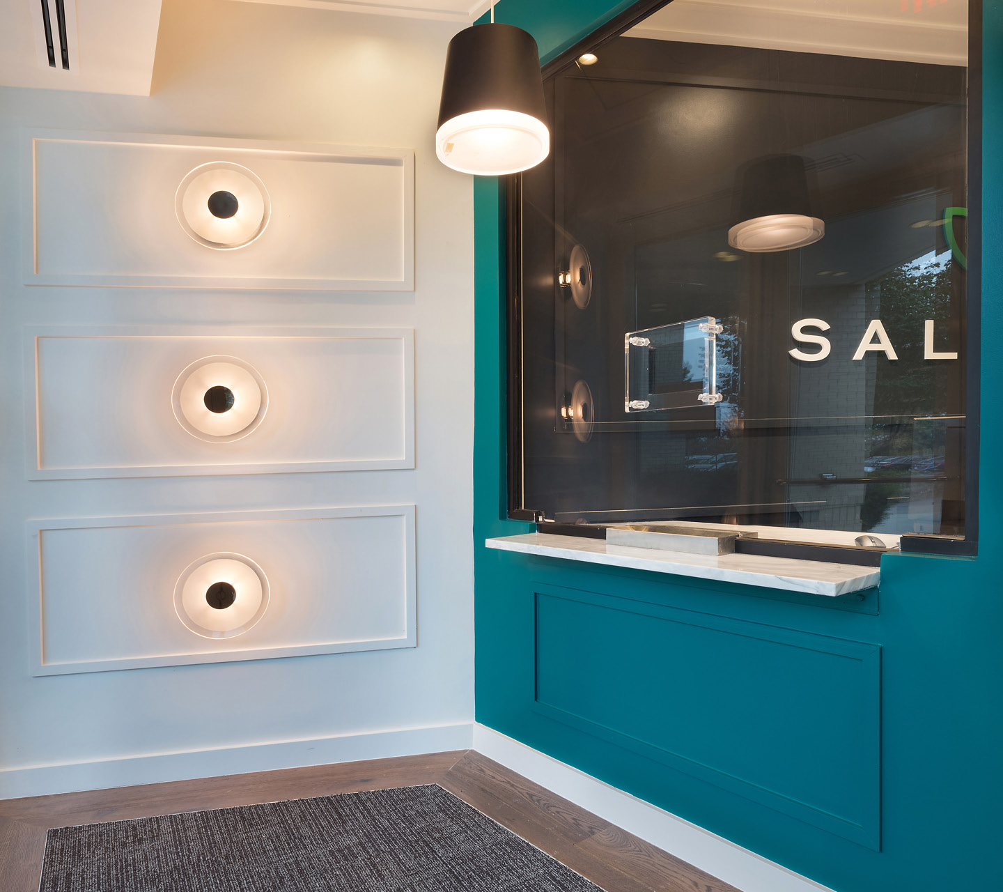 Salvera Dispensary Design by High Road Design Studio
