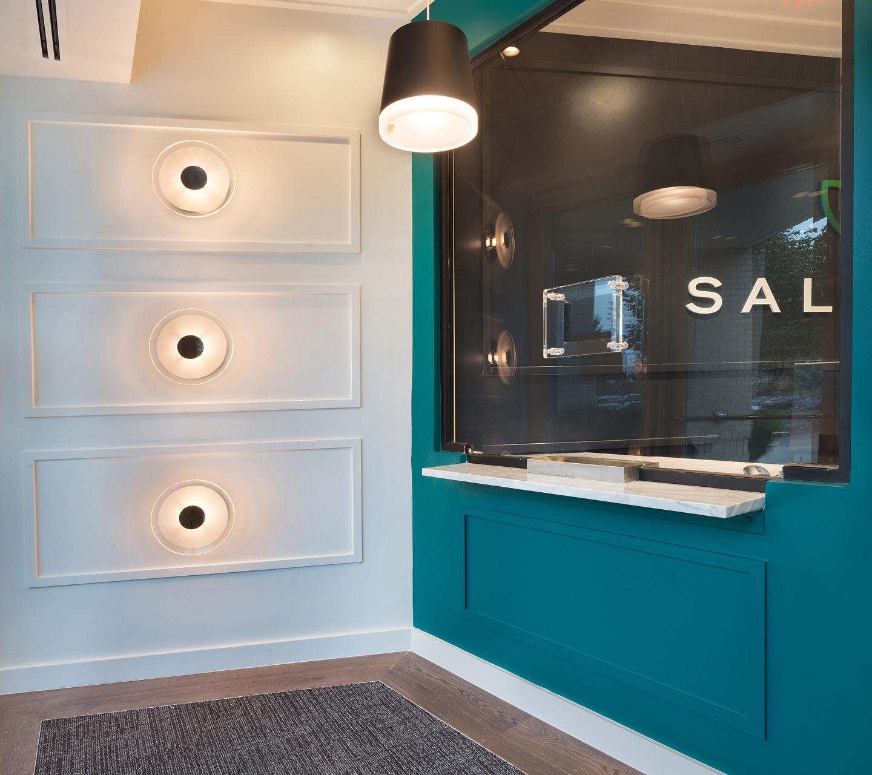 Salvera Dispensary Design by High Road Design Studio
