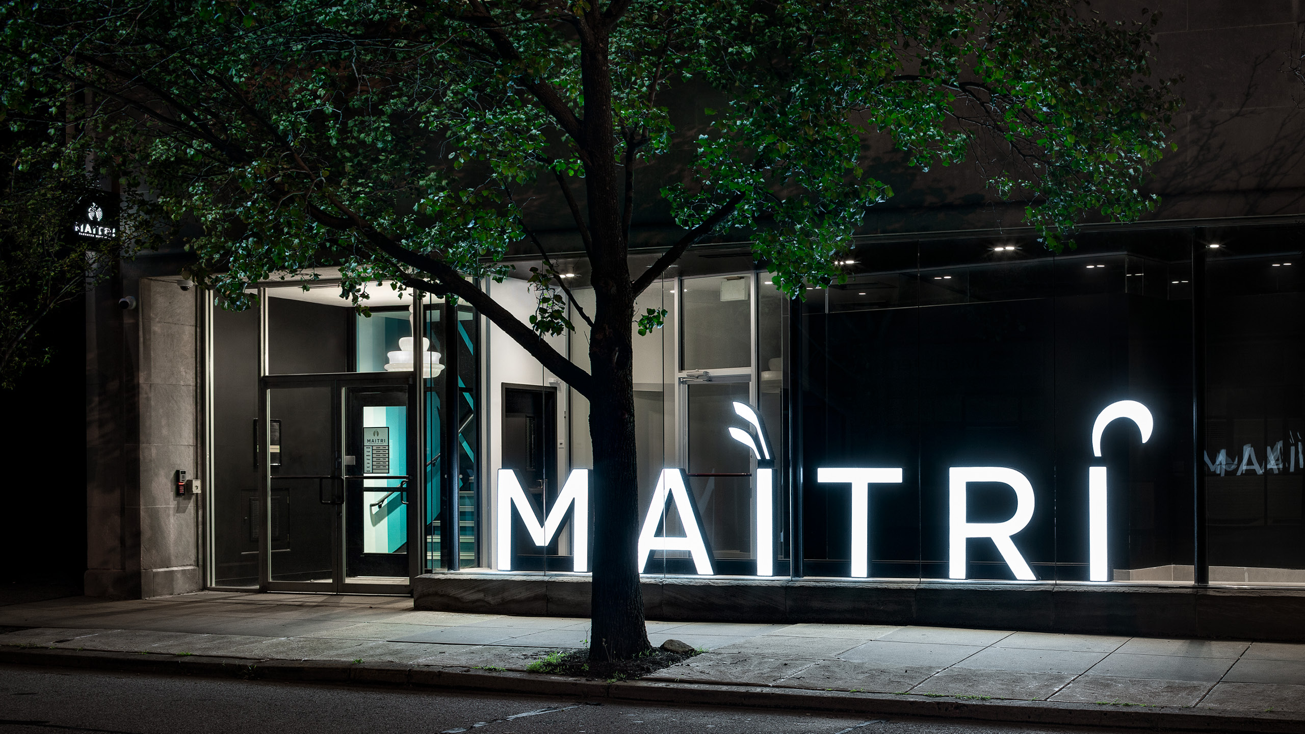 Maitri Pittsburgh Dispensary Design by High Road Design Studio