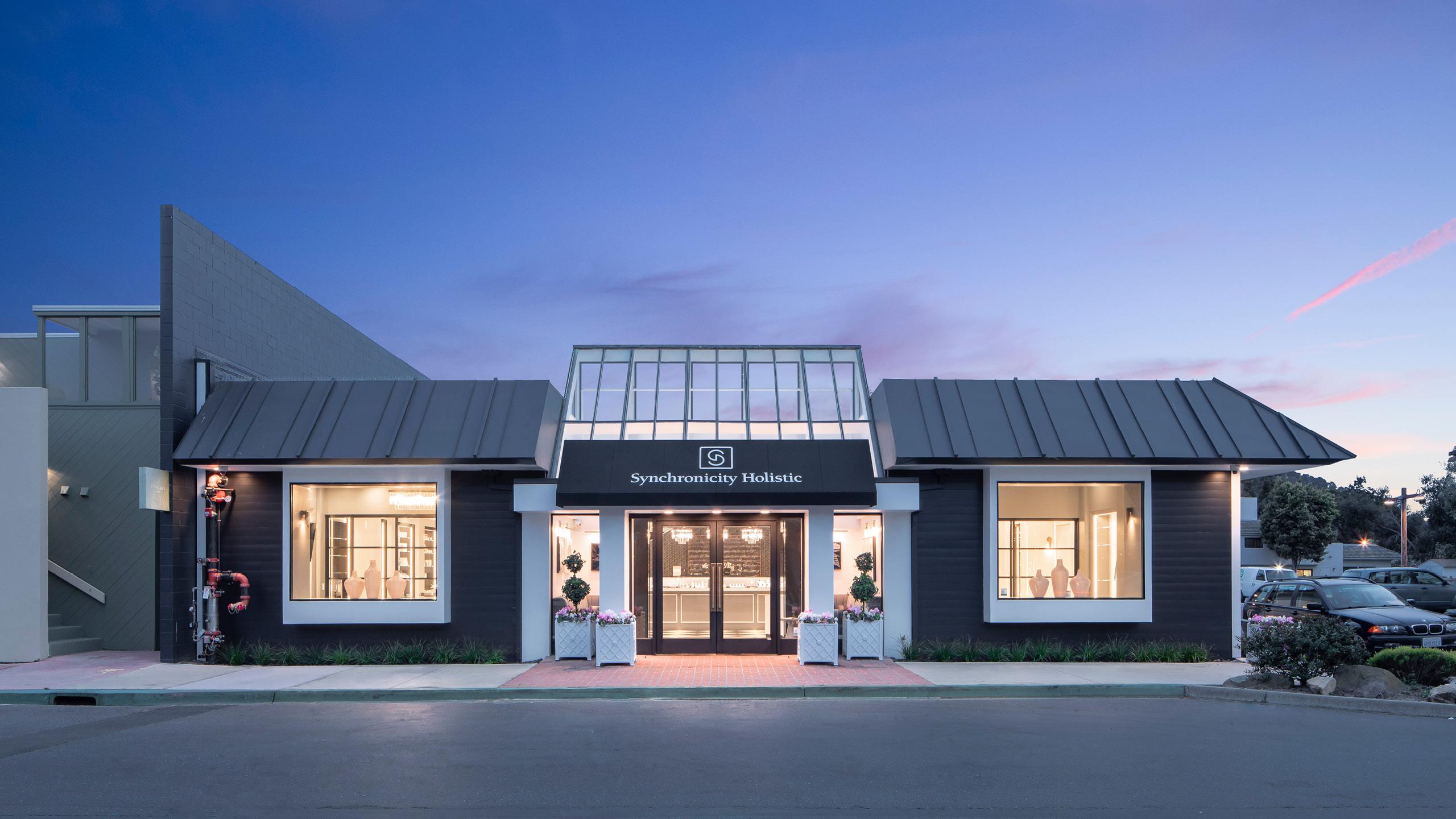Synchronicity Holistic Retail Dispensary Design by High Road Design Studio