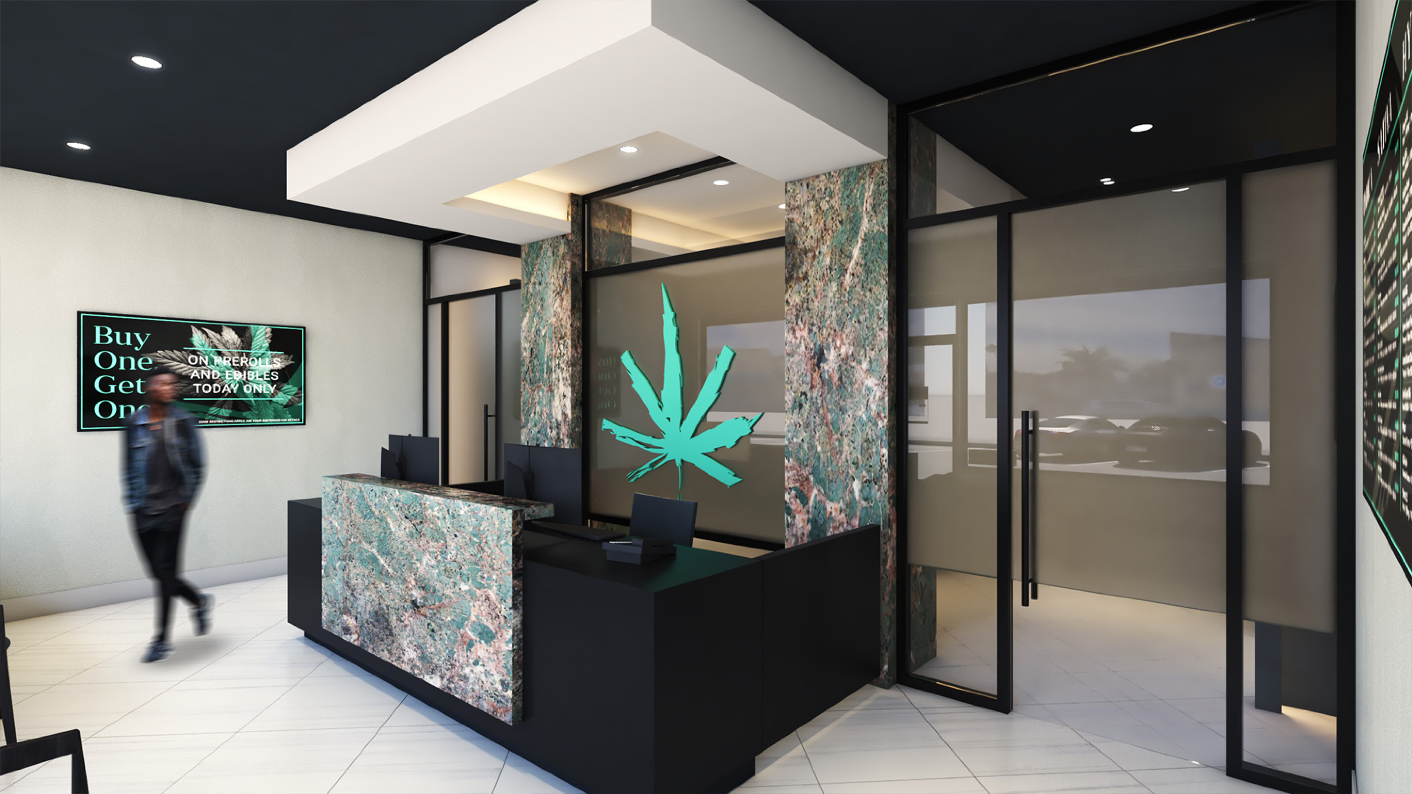 Elevate Dispensary - Retail Design by High Road Studio - Coming Soon