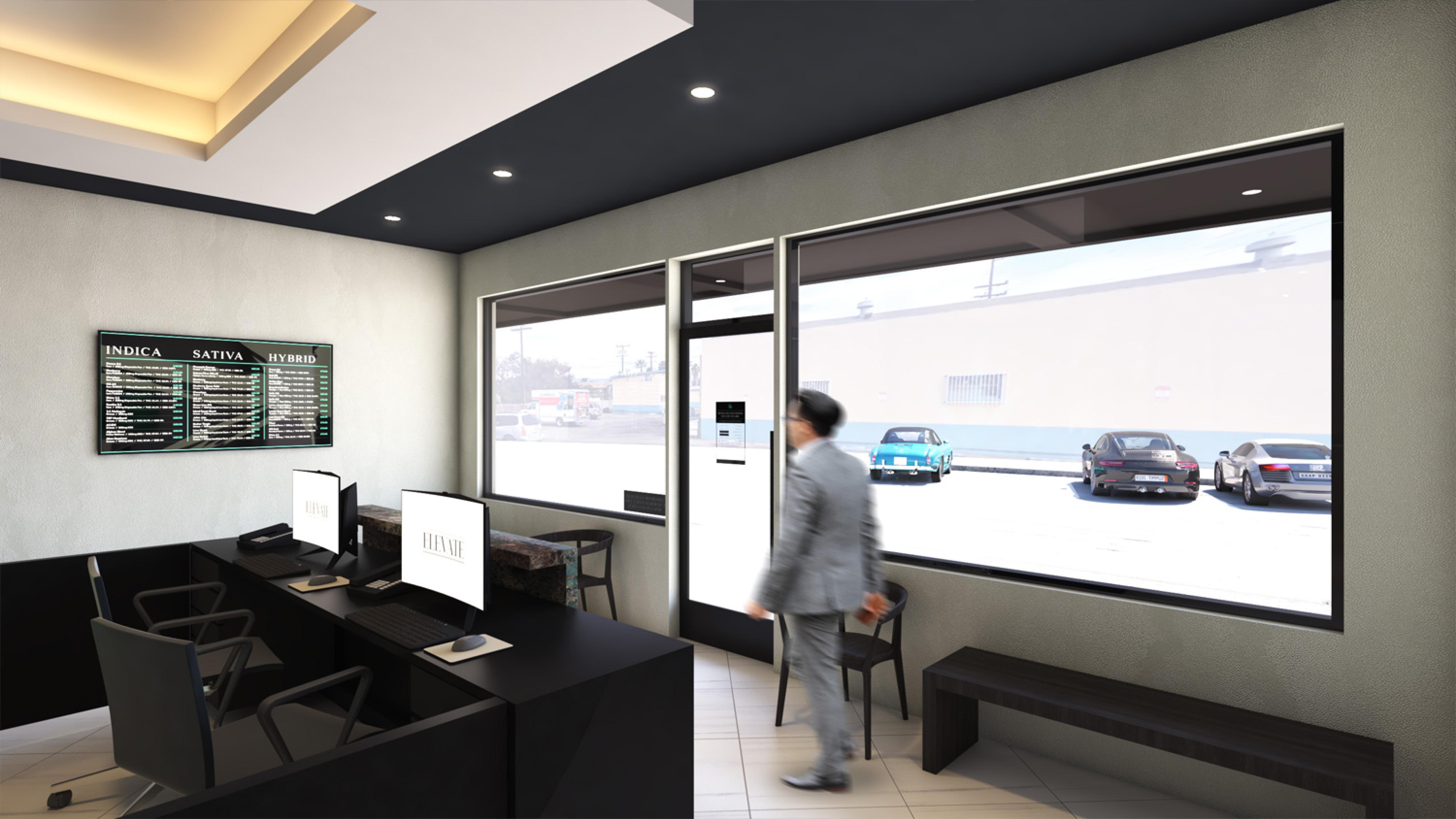 Elevate in Vineyard, CA- Dispensary Design by High Road Studio - Coming Soon