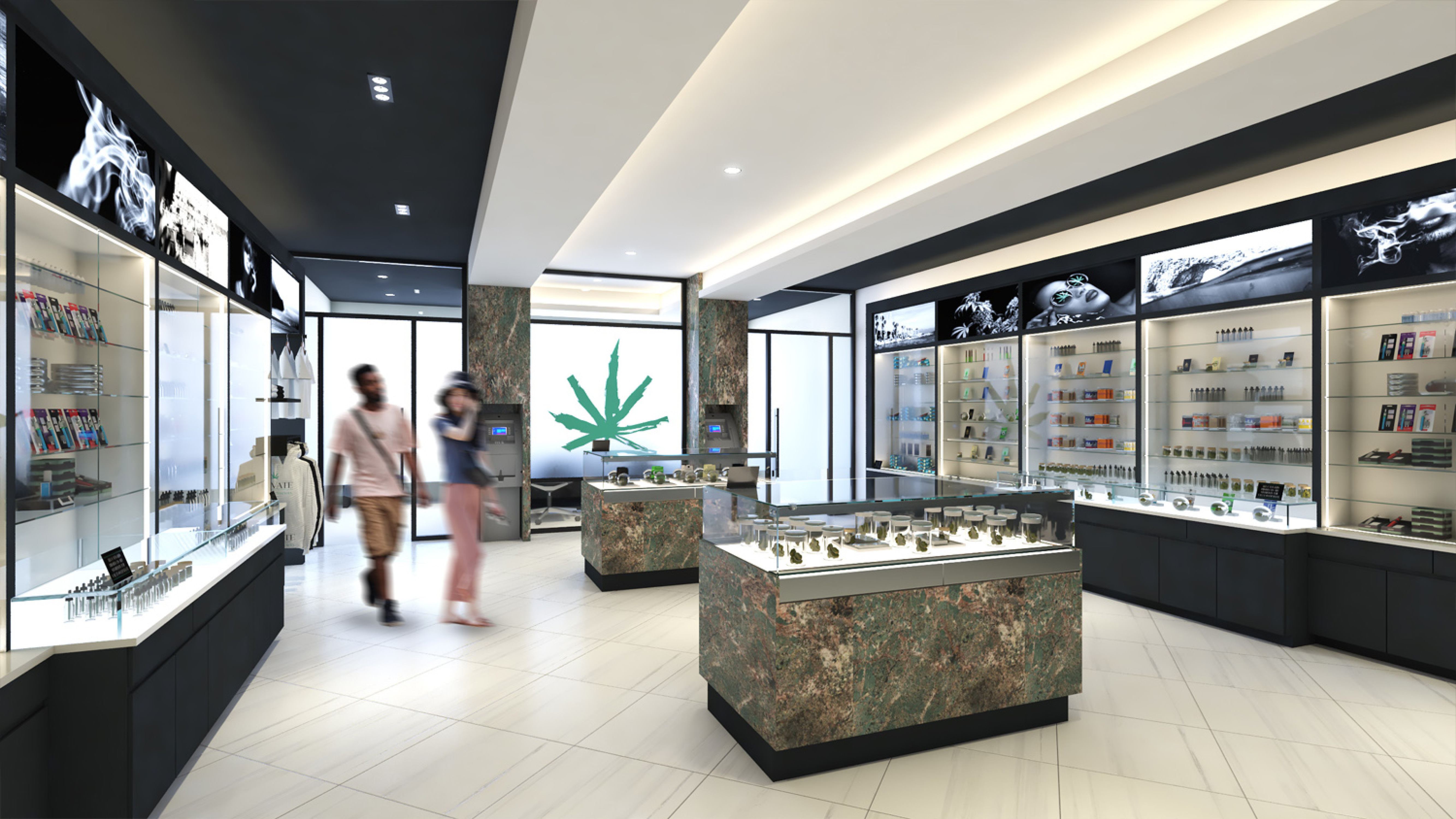Elevate Dispensary in Vineyard, CA- Retail Dispensary Design by High Road Studio - Coming Soon