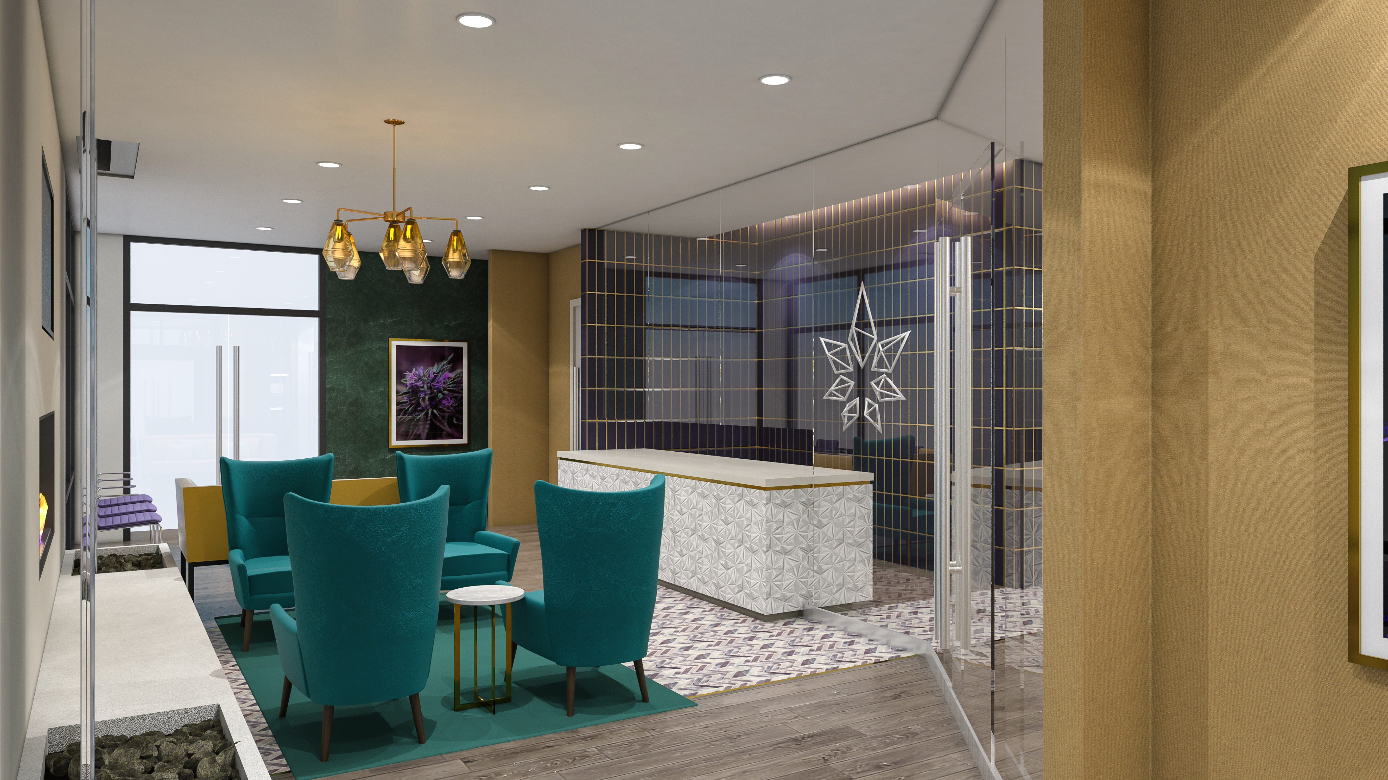 Nature's Remedy Dispensary - Design Conceptualization by High Road Studio
