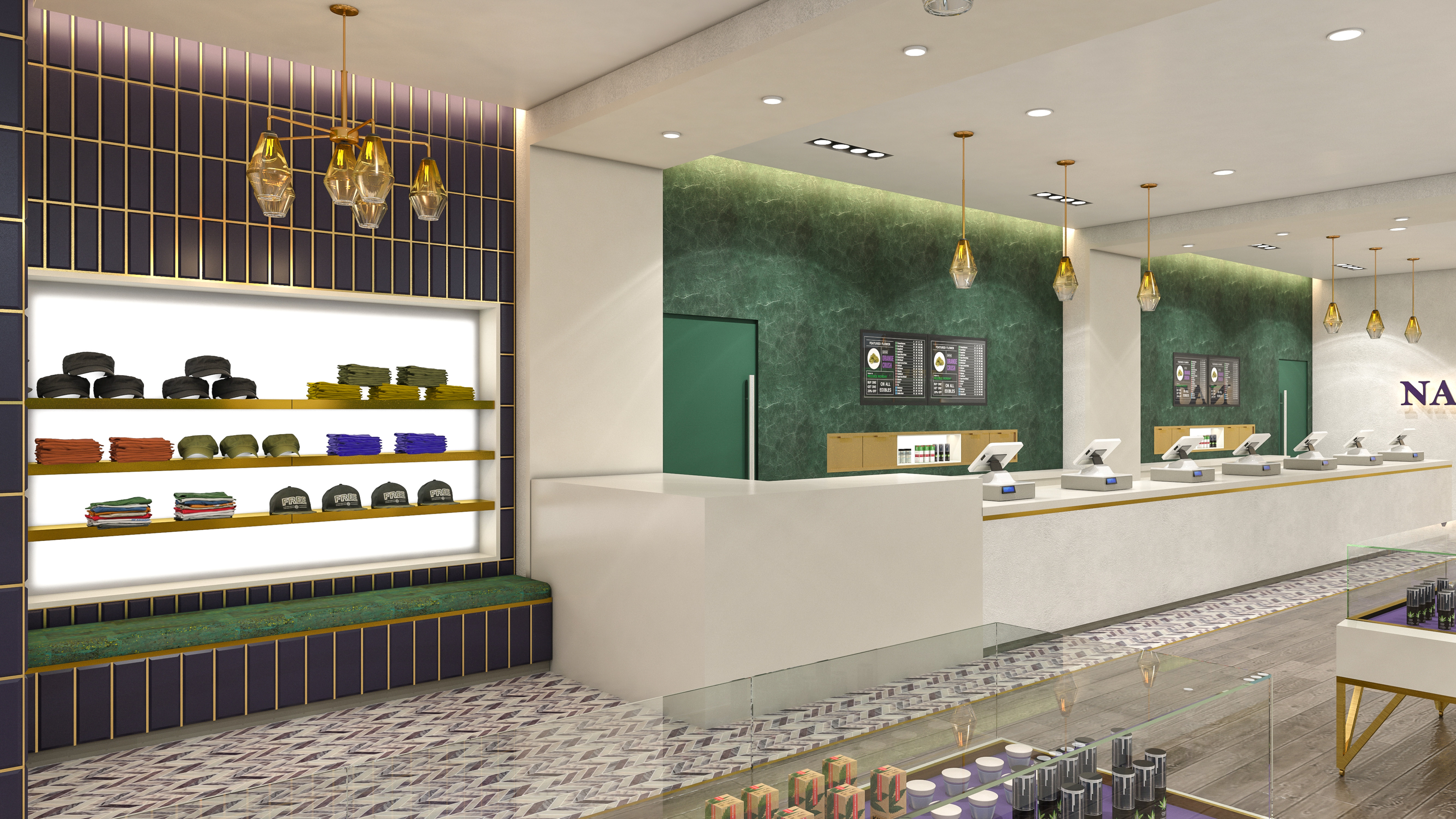 Nature's Remedy Dispensary - Signature Brand Elements Design by High Road Studio