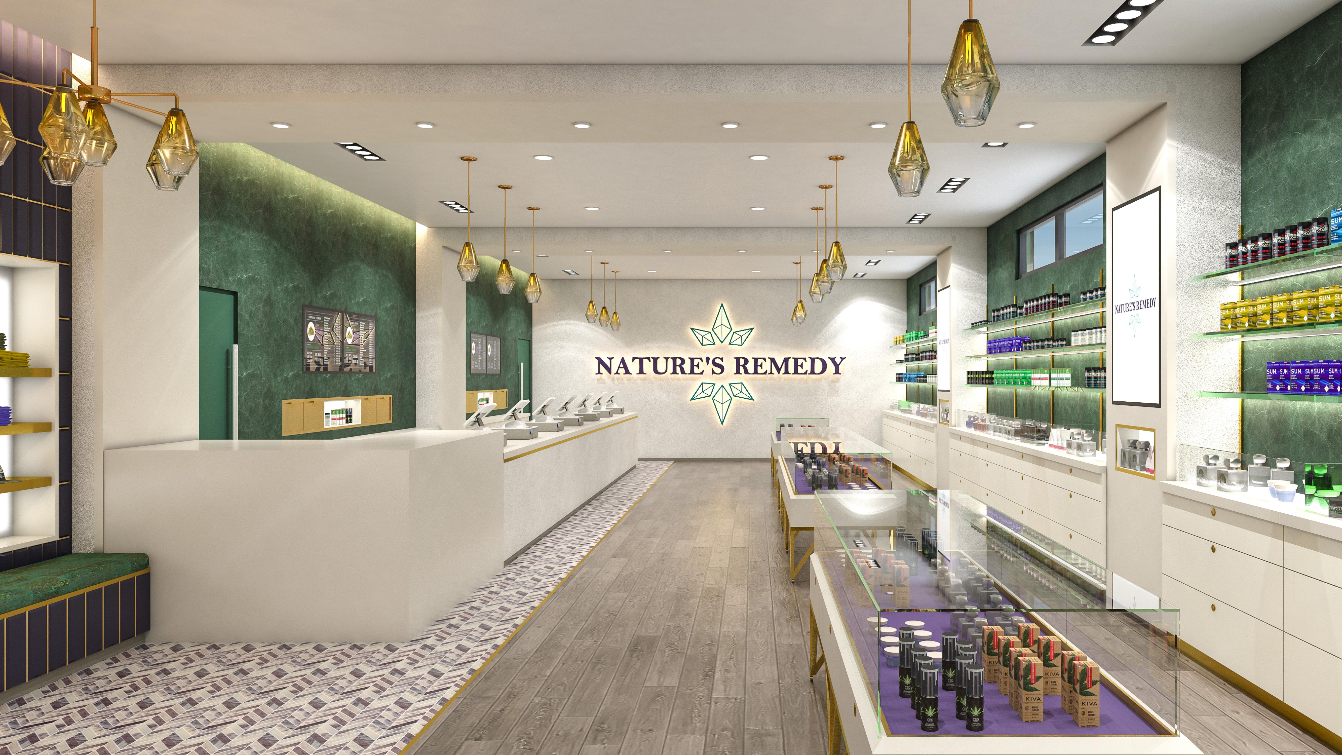 Nature's Remedy - Dispensary Design Portfolio - High Road Design Studio