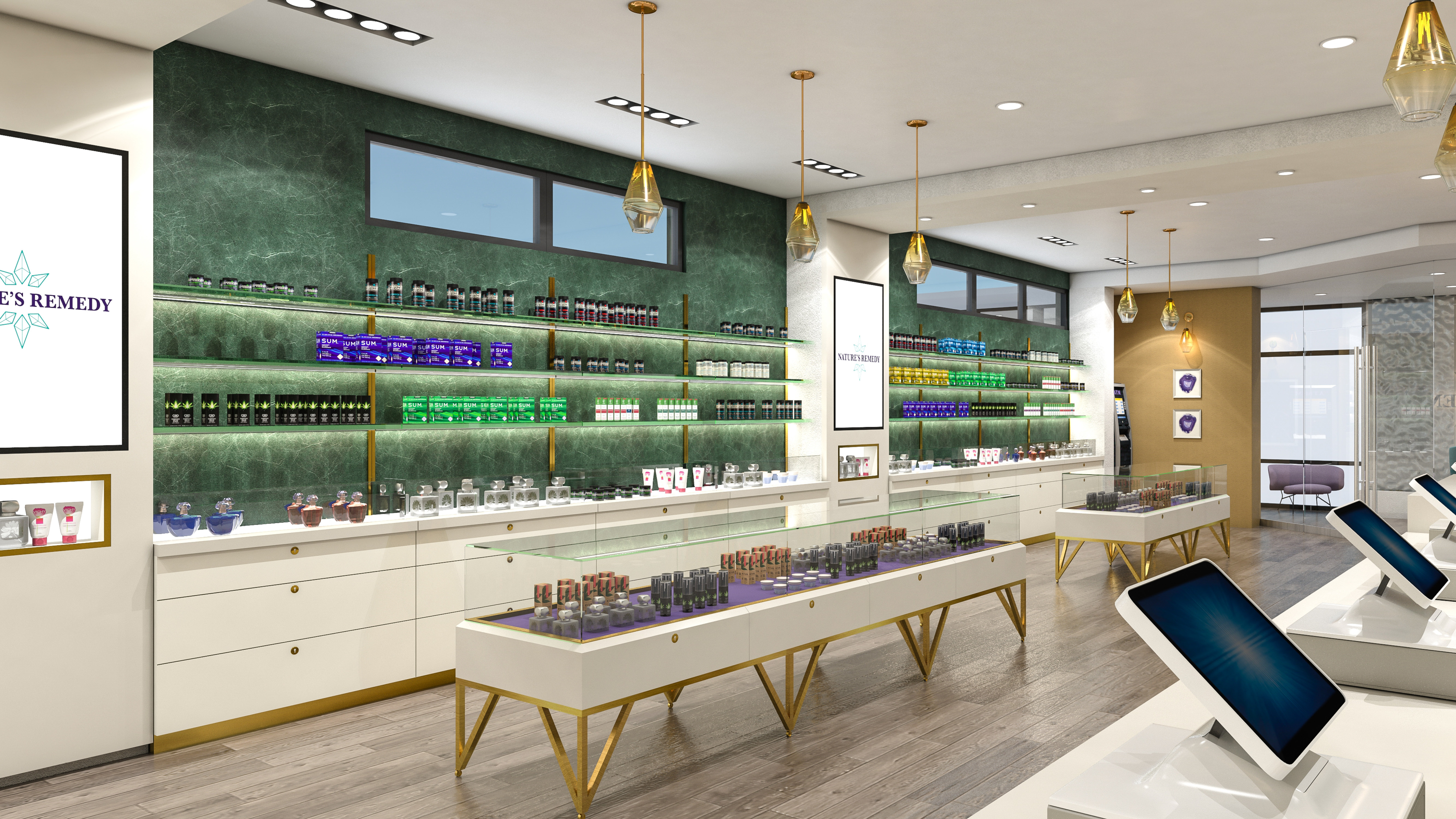 Nature's Remedy Dispensary - Spaceplanning by High Road Studio