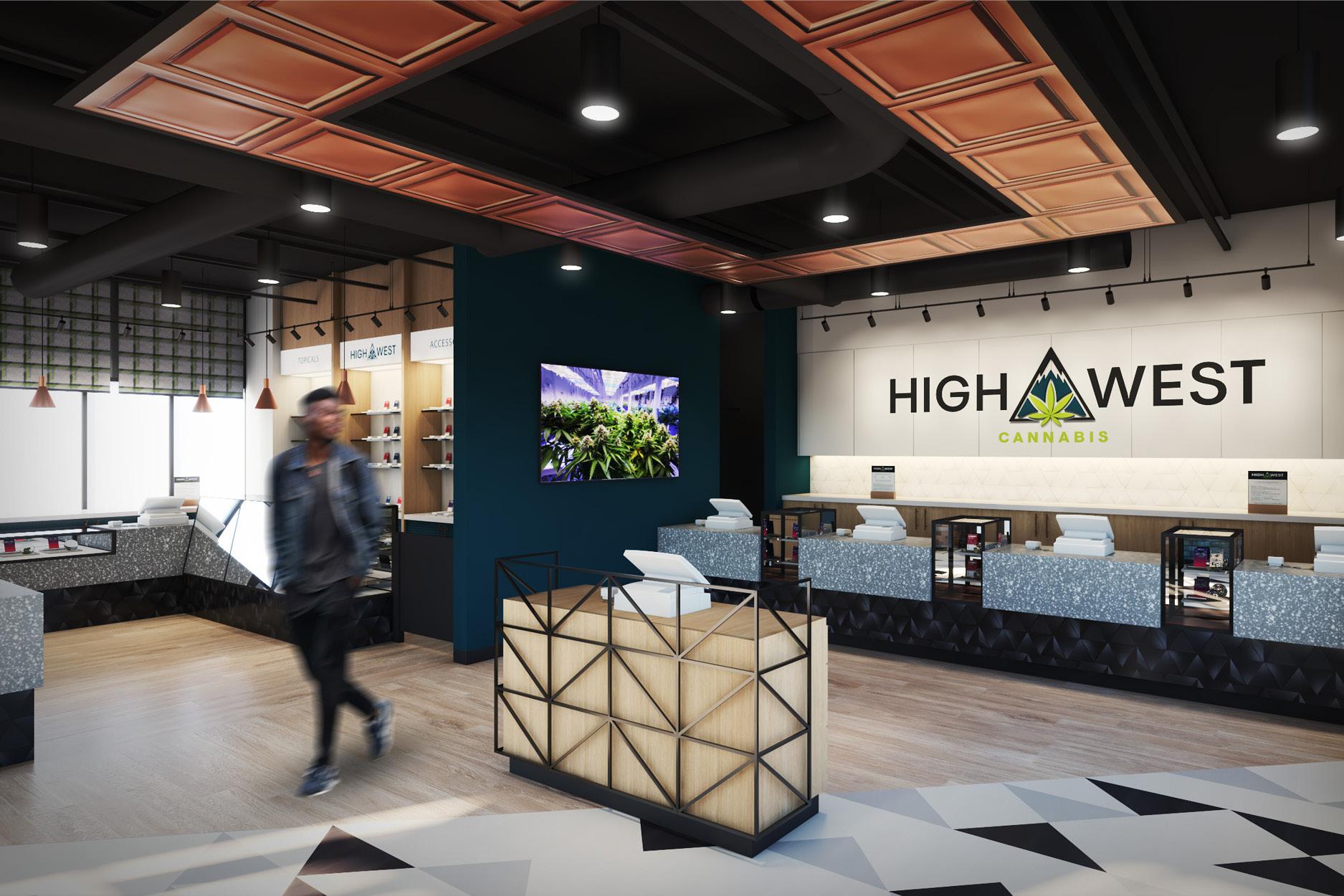 High West - Dispensary Design Portfolio - High Road Design Studio