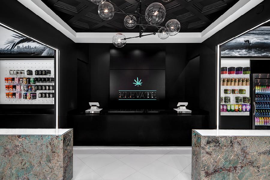 Elevate Dispensary Design - High Road Design Studio