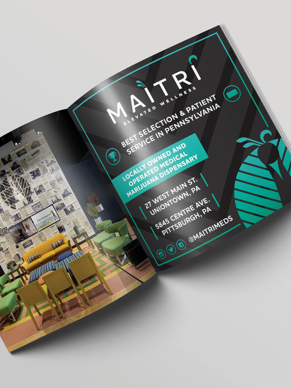 Maitri Brand Identity - High Road Design Studio