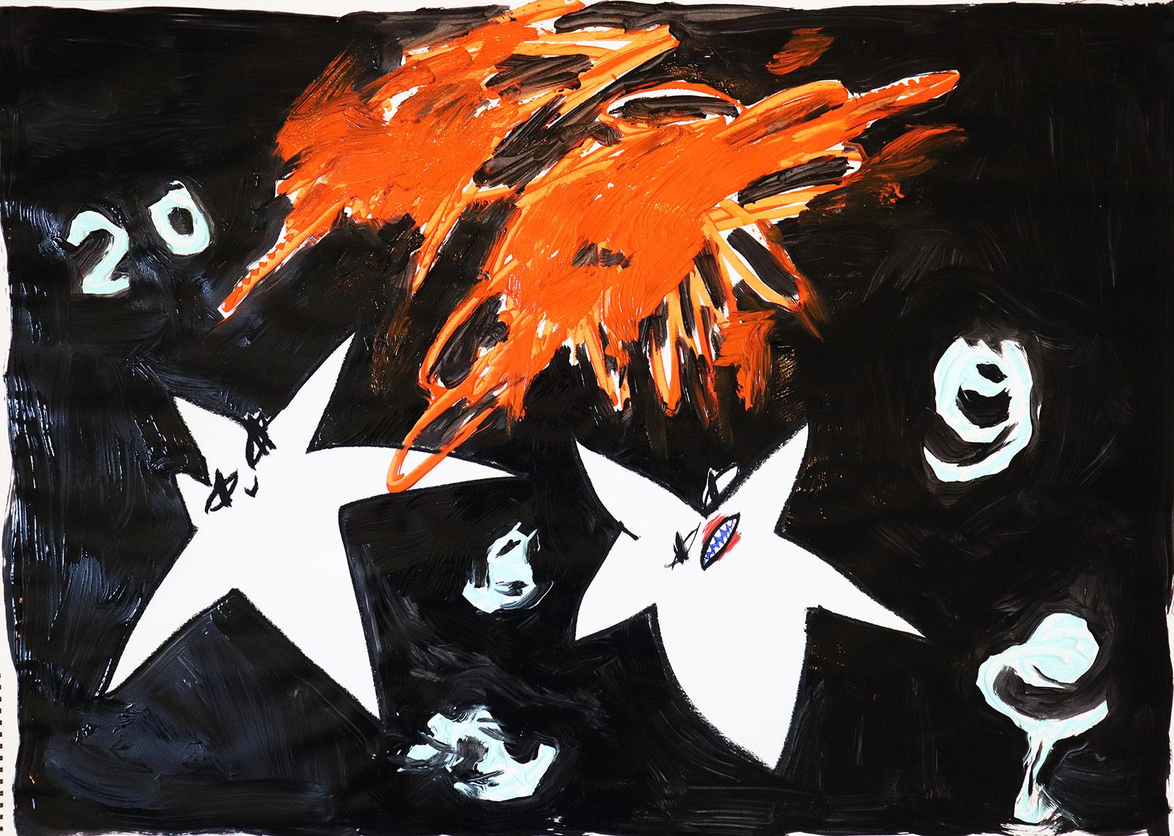 domi gratz, emerging artist, contemporary painting, vienna