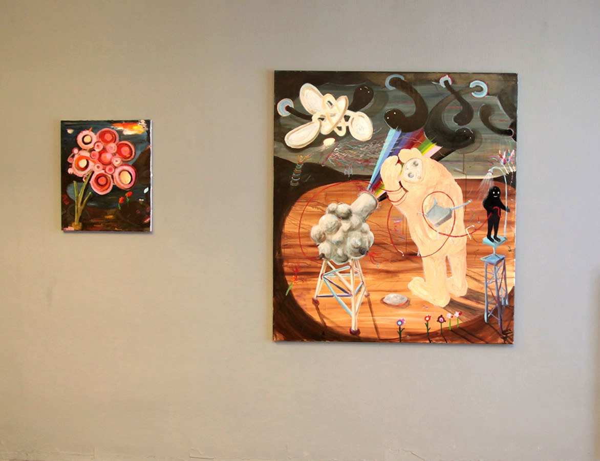 nicole gnesa gallery, Philip grozinger, art fair, parallel